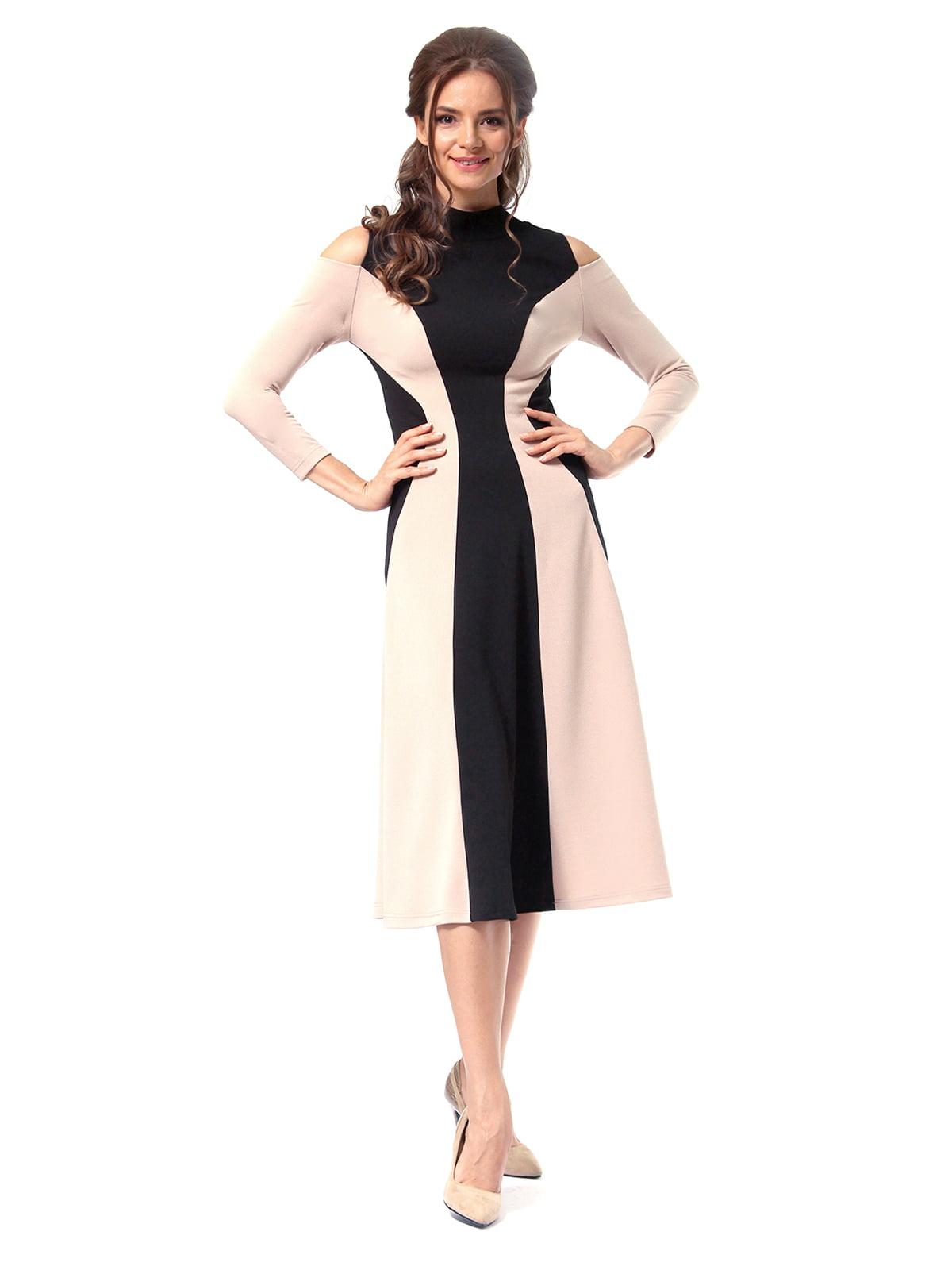 Платье двухцветное | 4518875 | фото 2
