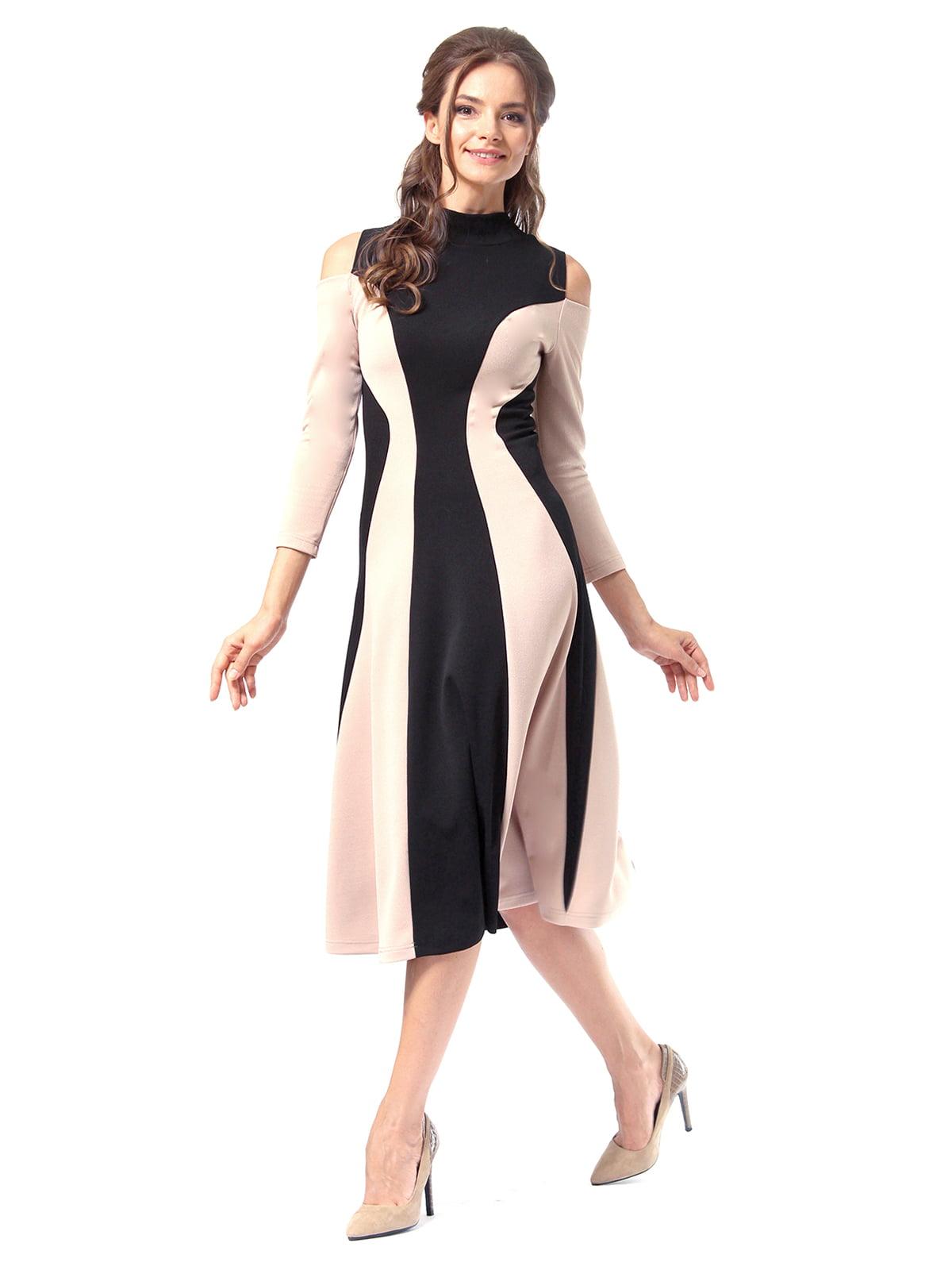 Платье двухцветное | 4518875 | фото 5