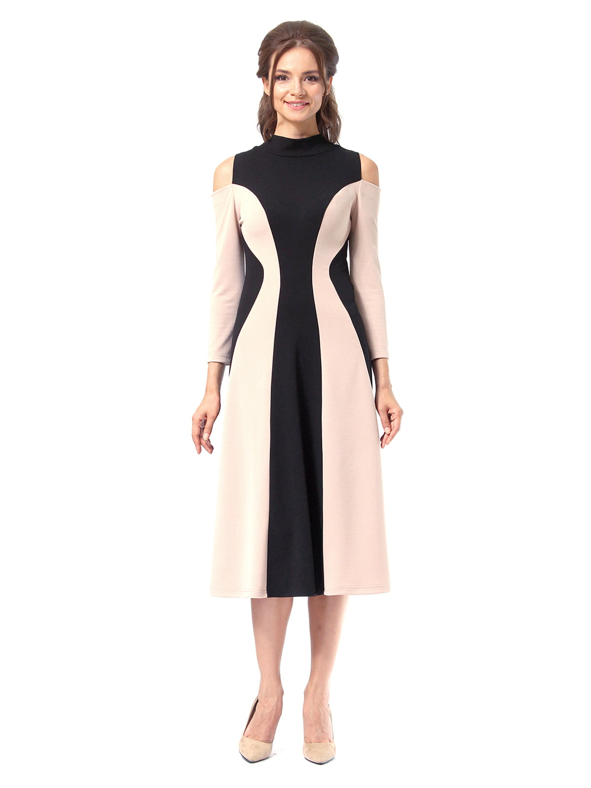 Платье двухцветное | 4518875 | фото 6