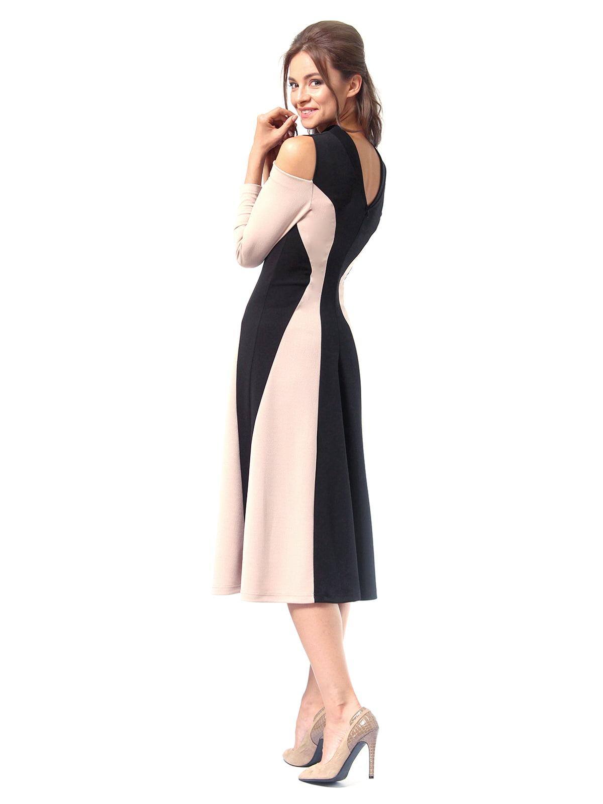 Платье двухцветное | 4518875 | фото 7