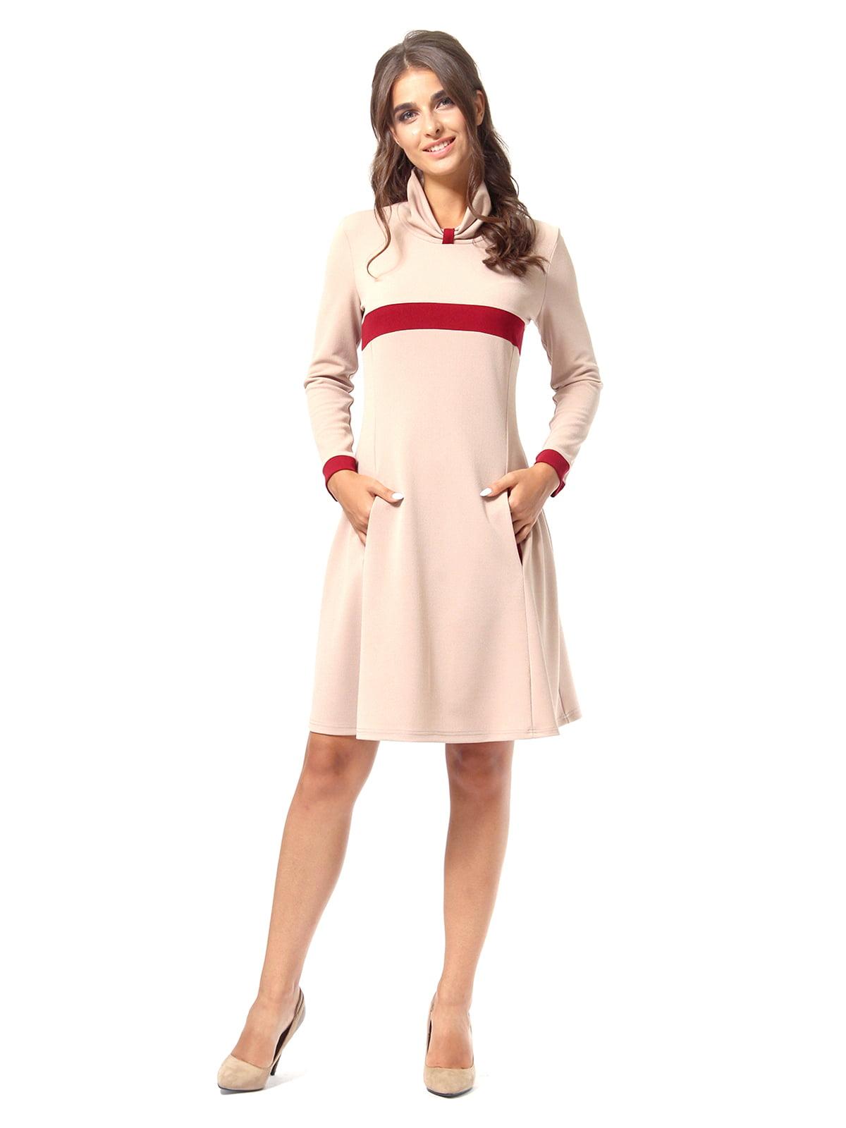 Сукня пісочного кольору | 4518882