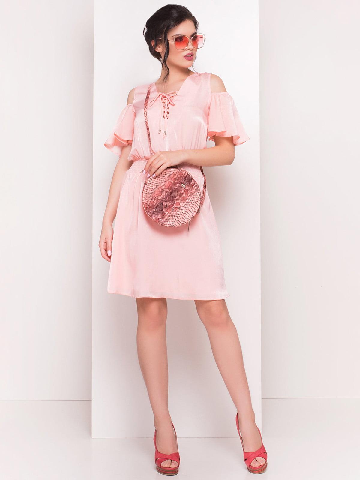Сукня персикового кольору | 4326666