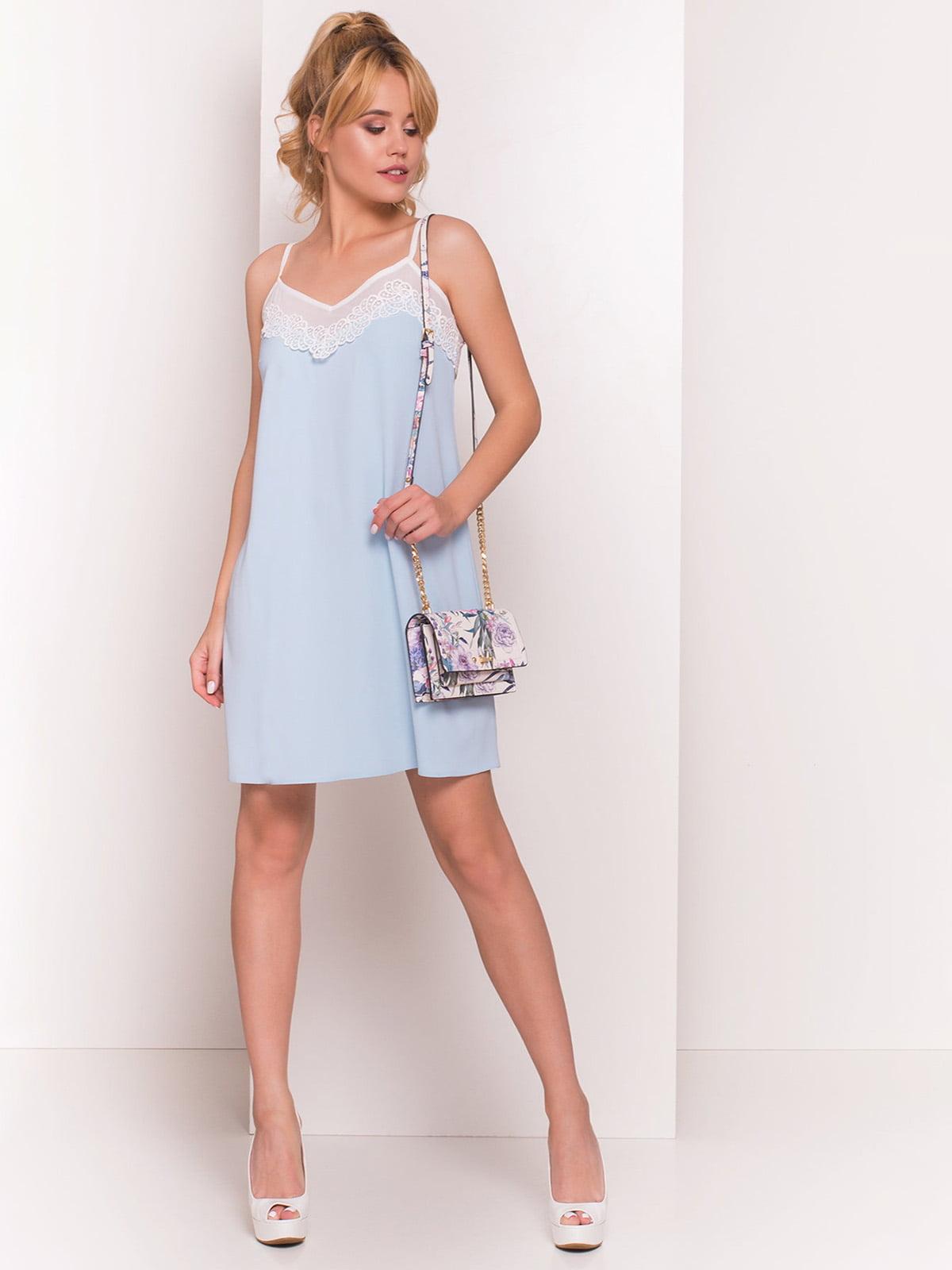 Сукня блакитна   4334379