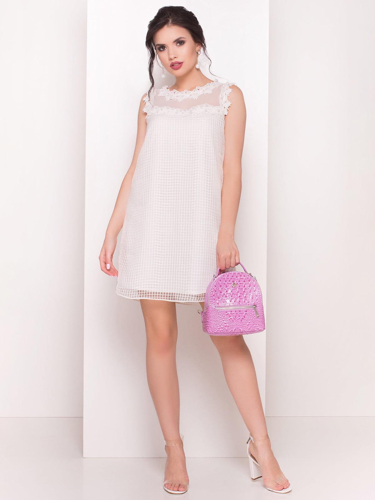 Сукня молочного кольору   4334414