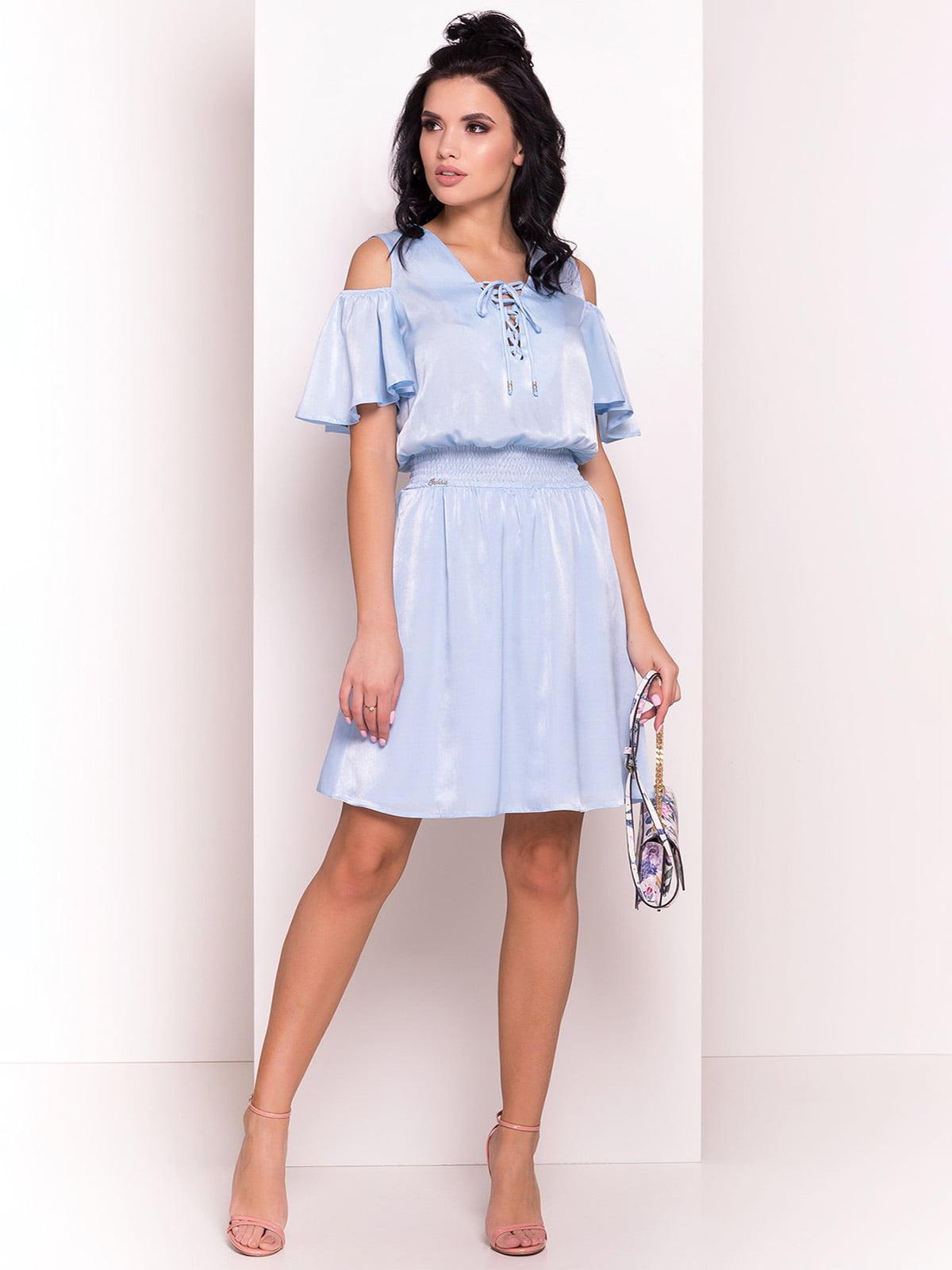 Сукня блакитна | 4384284