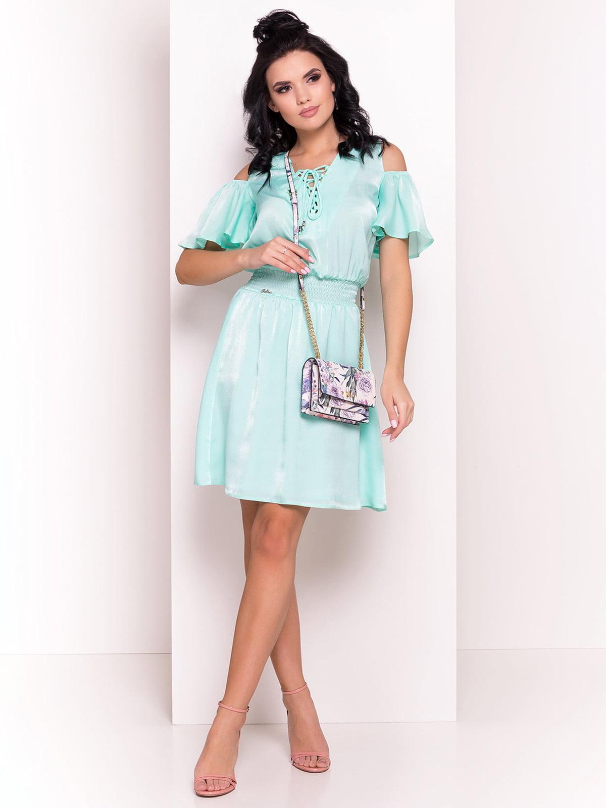 Сукня м'ятного кольору | 4384285