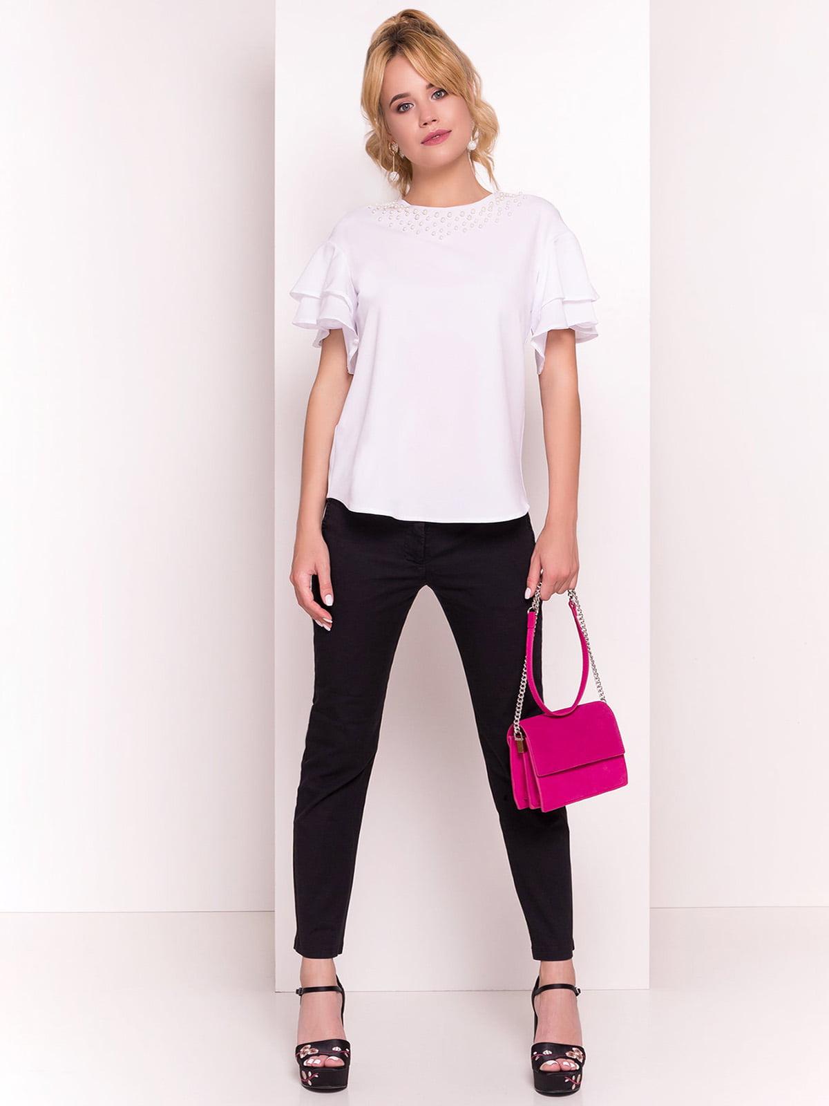 Блуза біла | 4384307