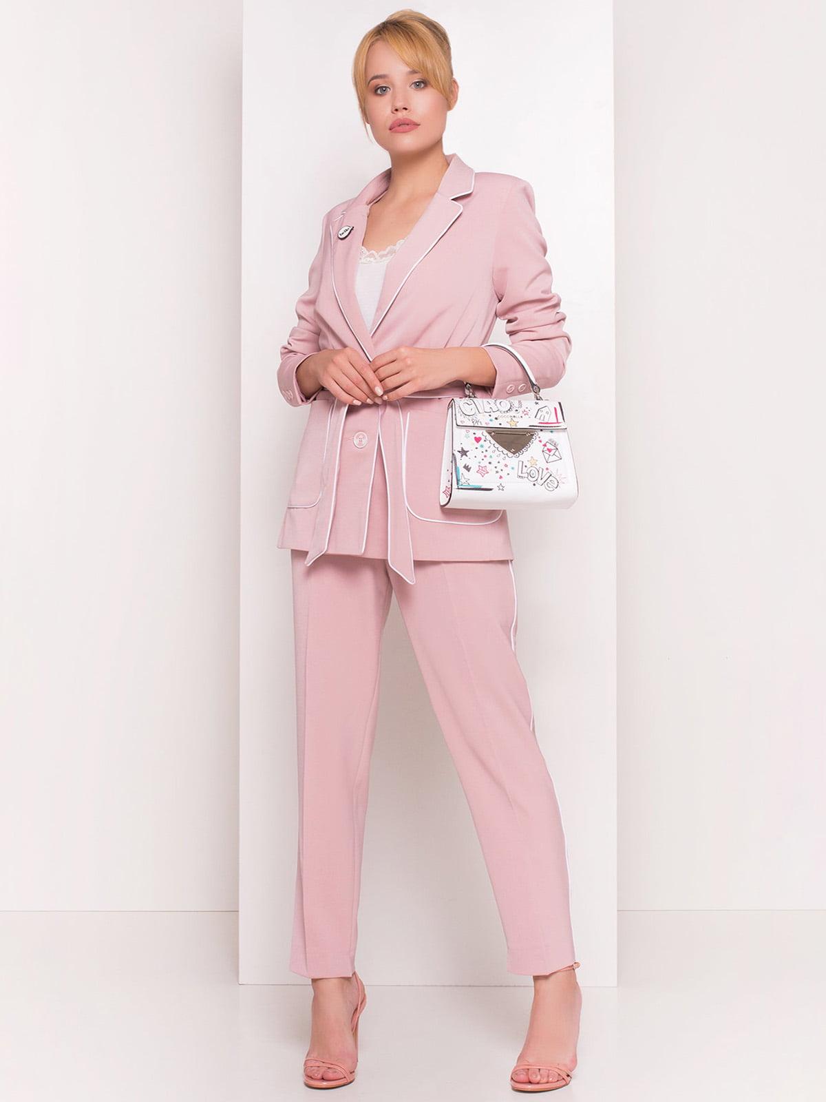 Жакет рожевий | 4384323