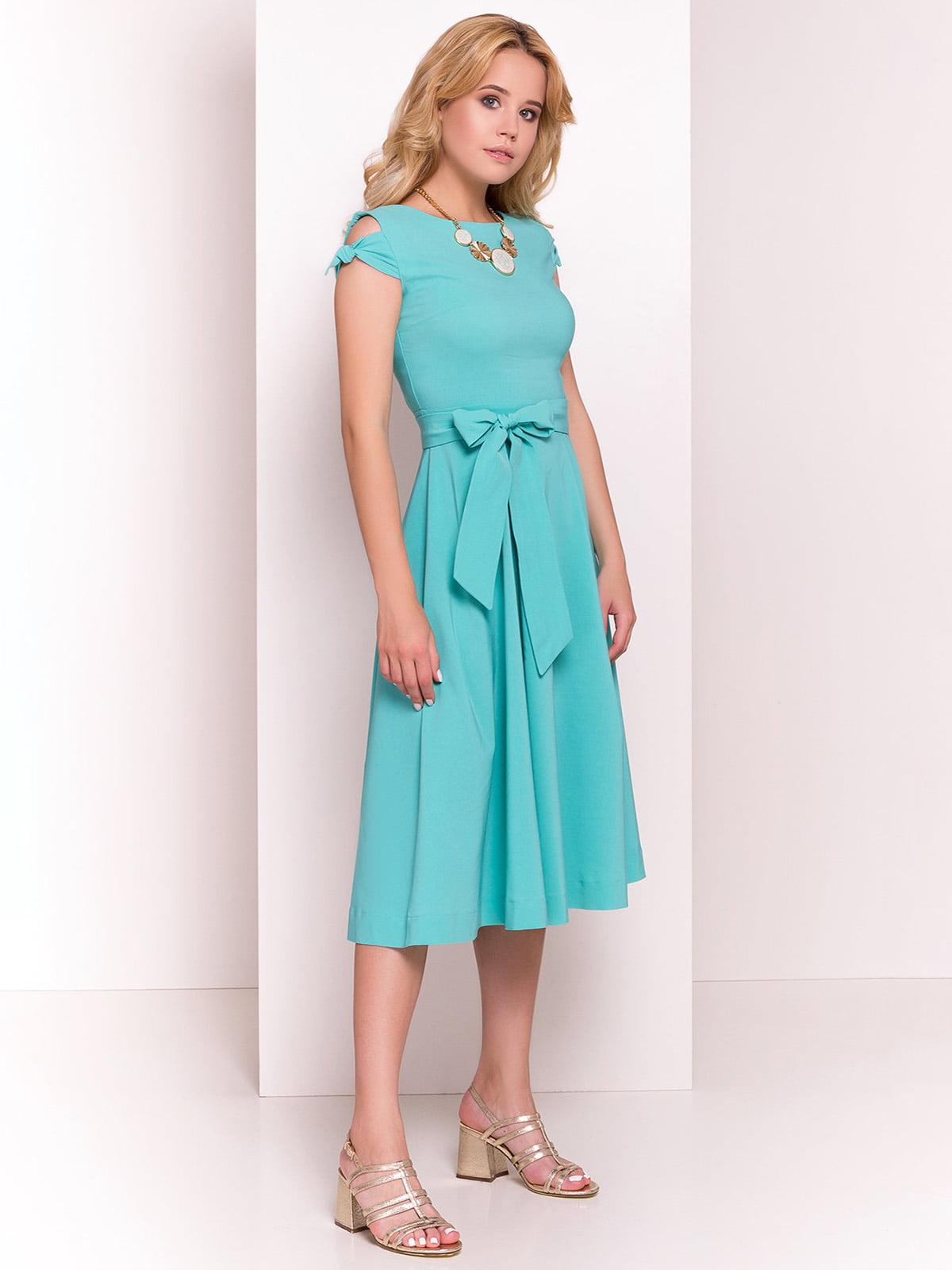 Сукня м'ятного кольору | 4384352