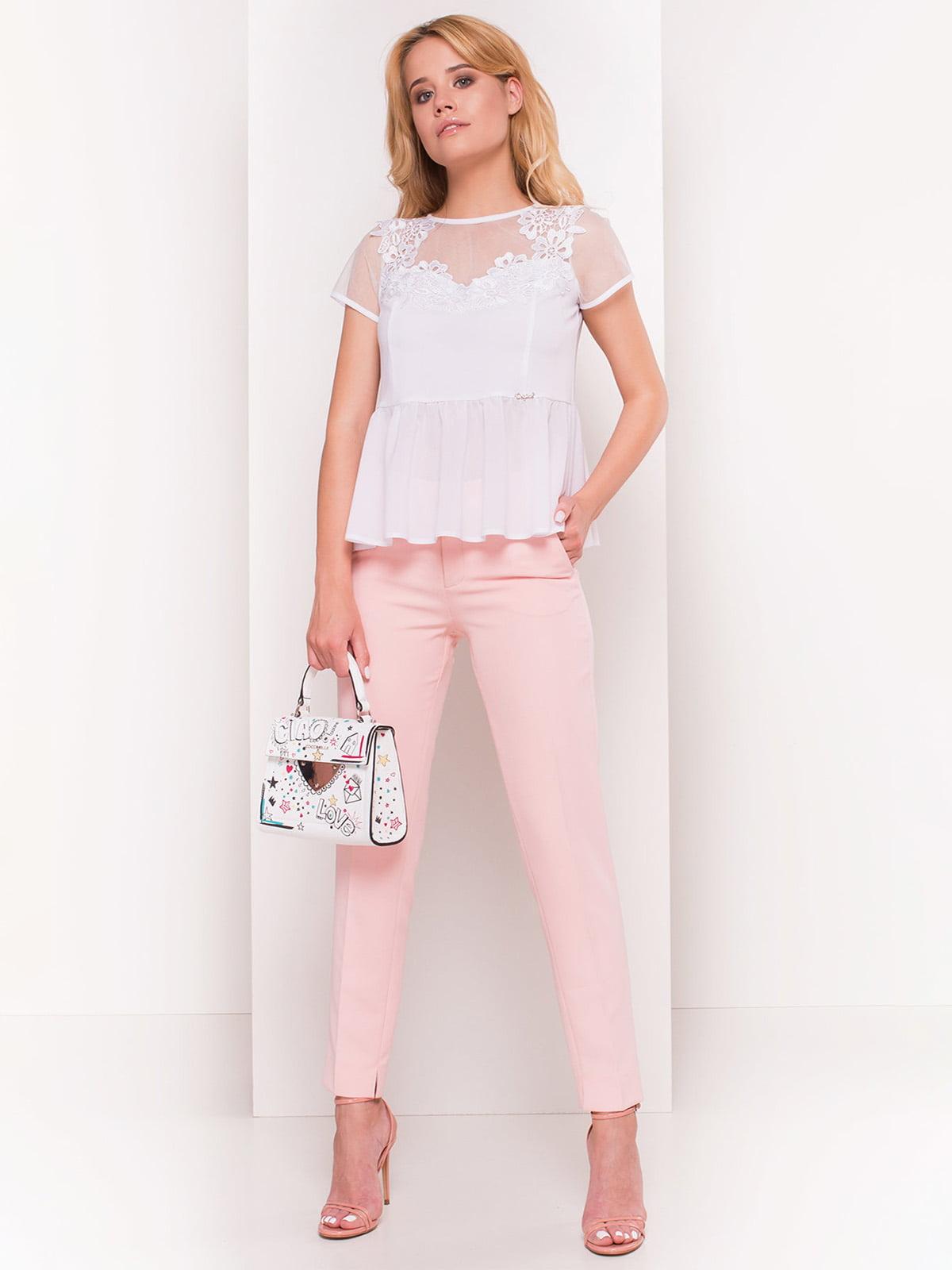 Блуза біла | 4384361