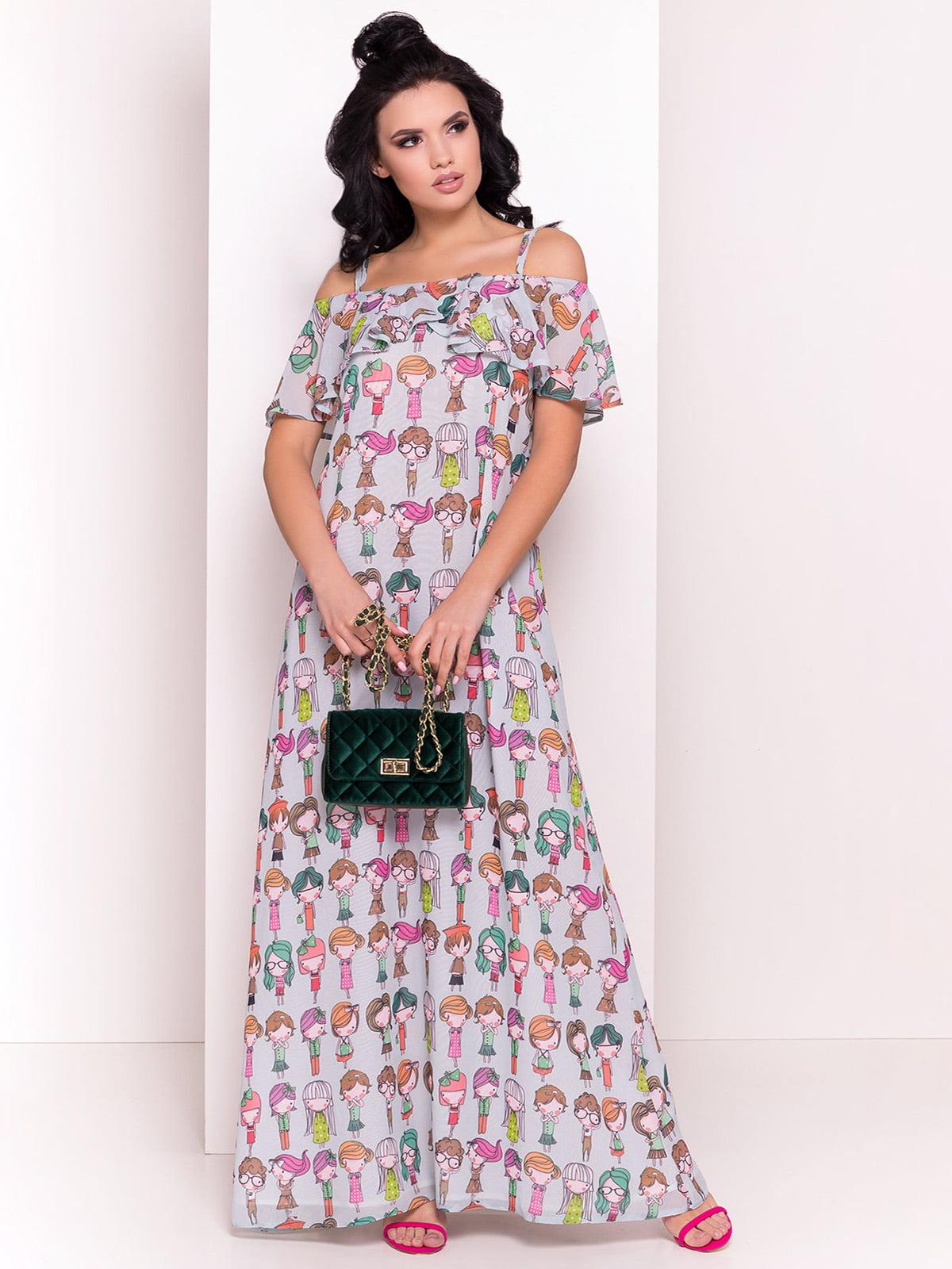 Сукня в принт | 4384366