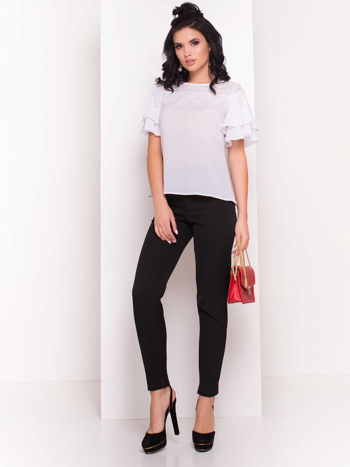 Блуза біла   4384382