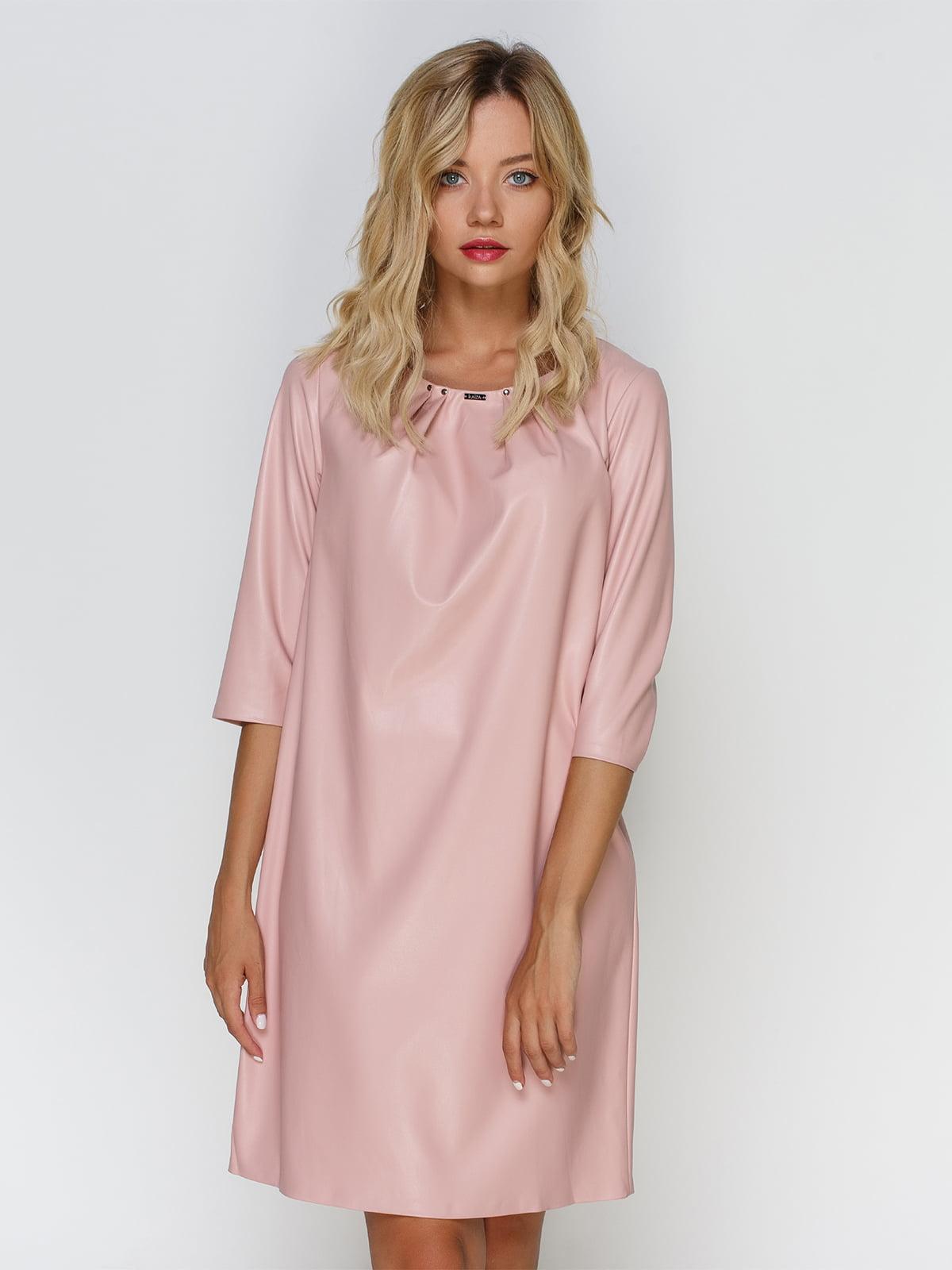Сукня кольору пудри   4520669