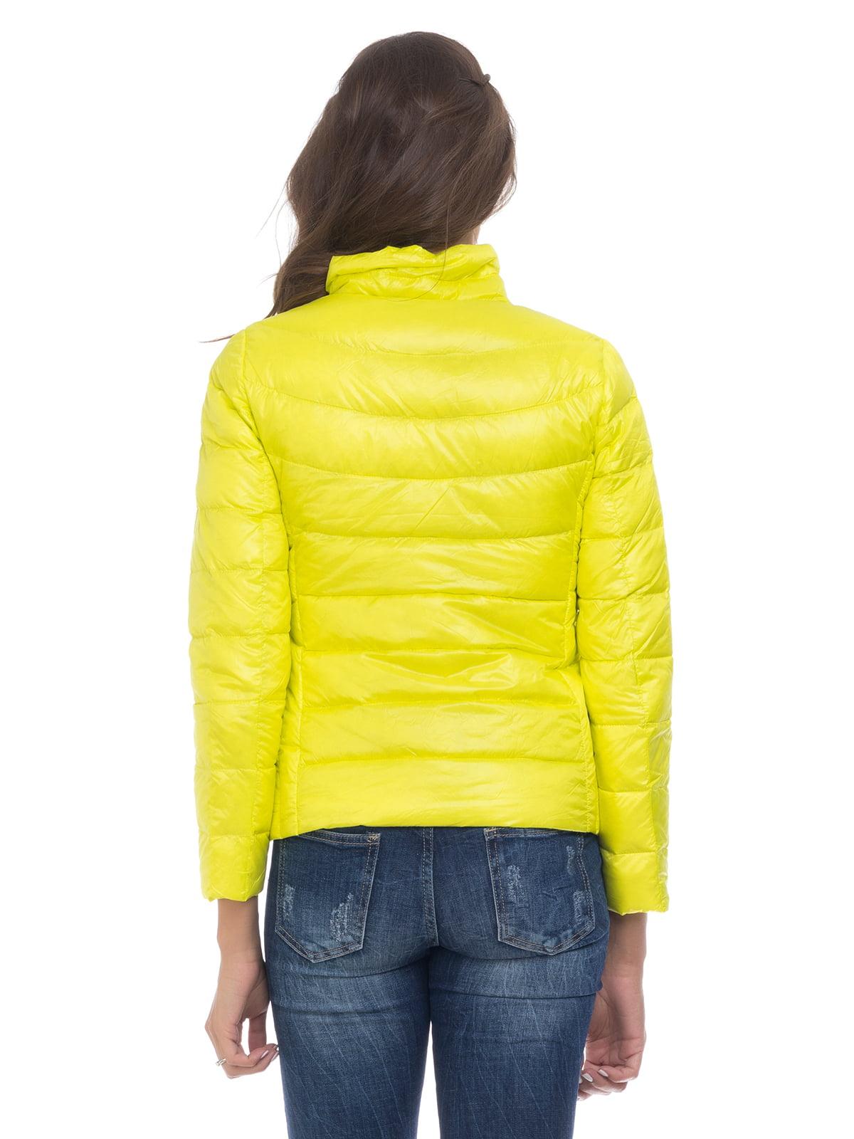 Куртка лимонного цвета   4525915   фото 2