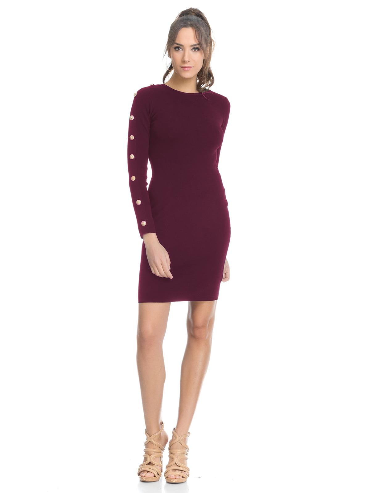Сукня кольору марсала | 4525940