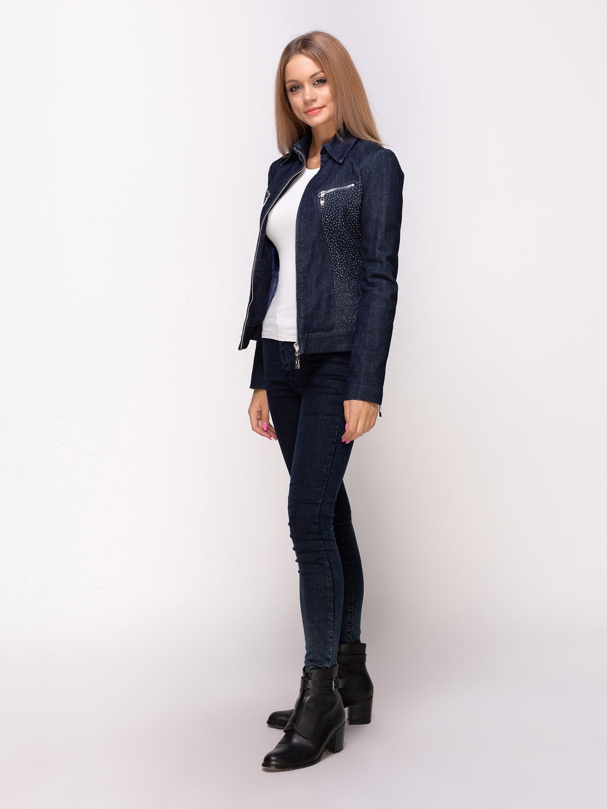 Куртка синя | 4527108 | фото 2