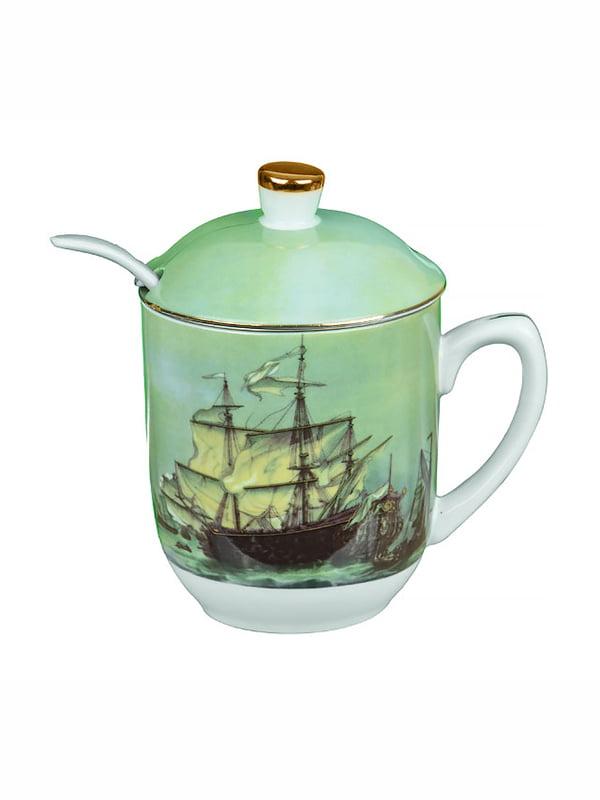 Чашка заварочная с ложкой (300 мл)   4530459