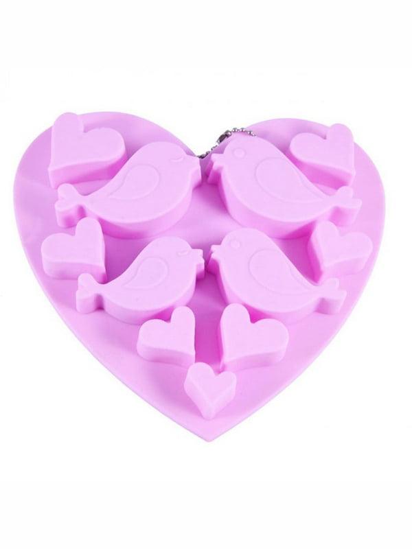 Форма для льоду або шоколаду (15x14,5x1,5 см) - 11 комірок | 4530686