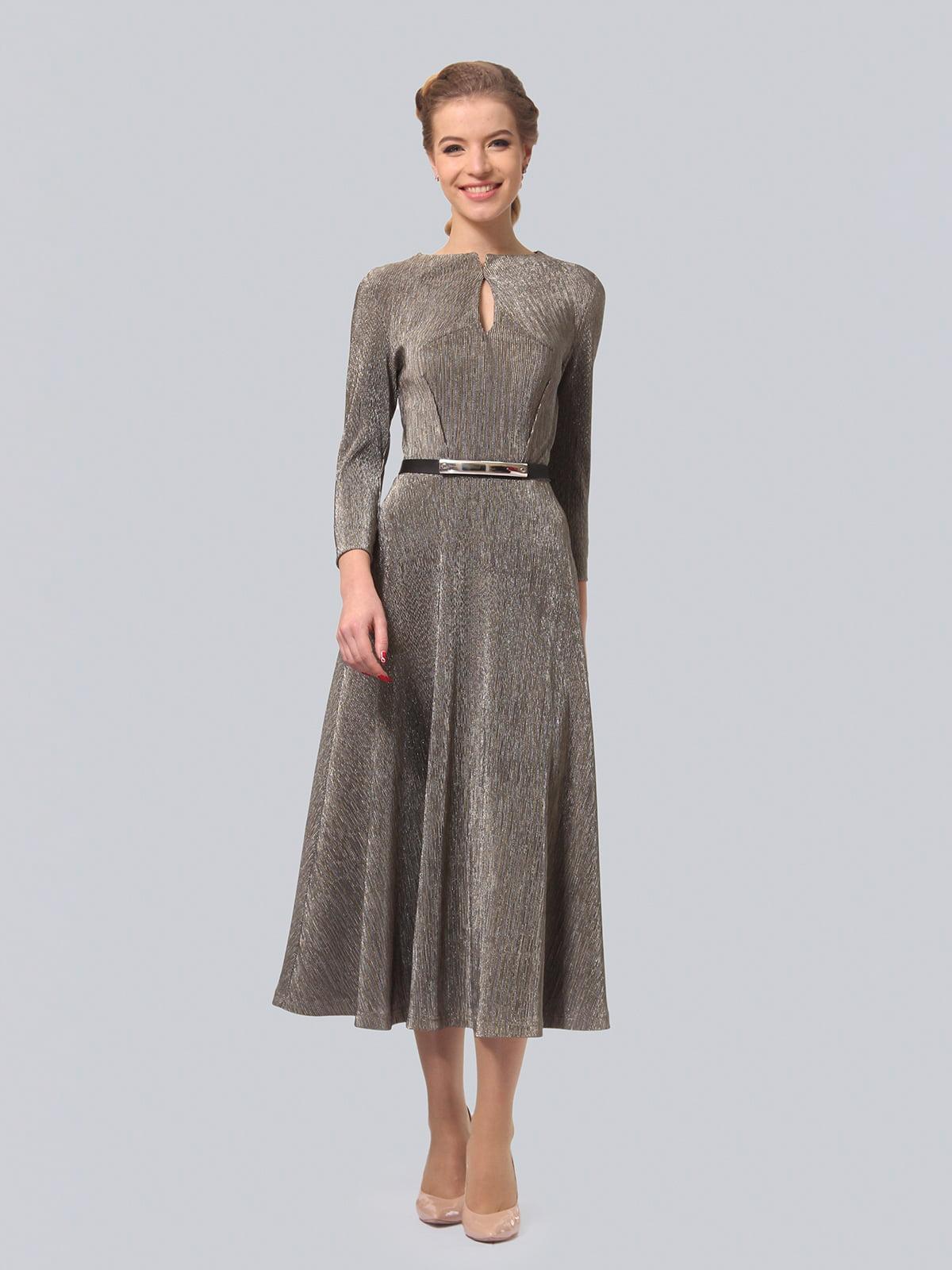 Платье серебристого цвета | 4529164