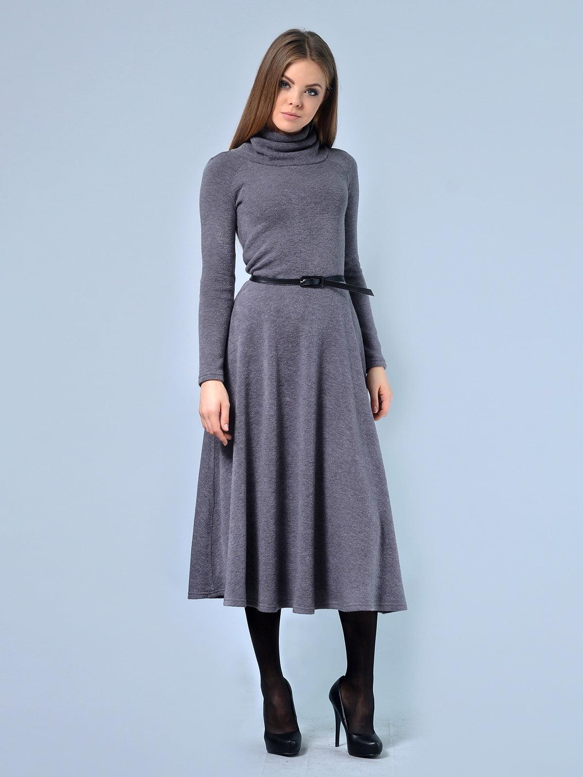 Платье серое | 4529190