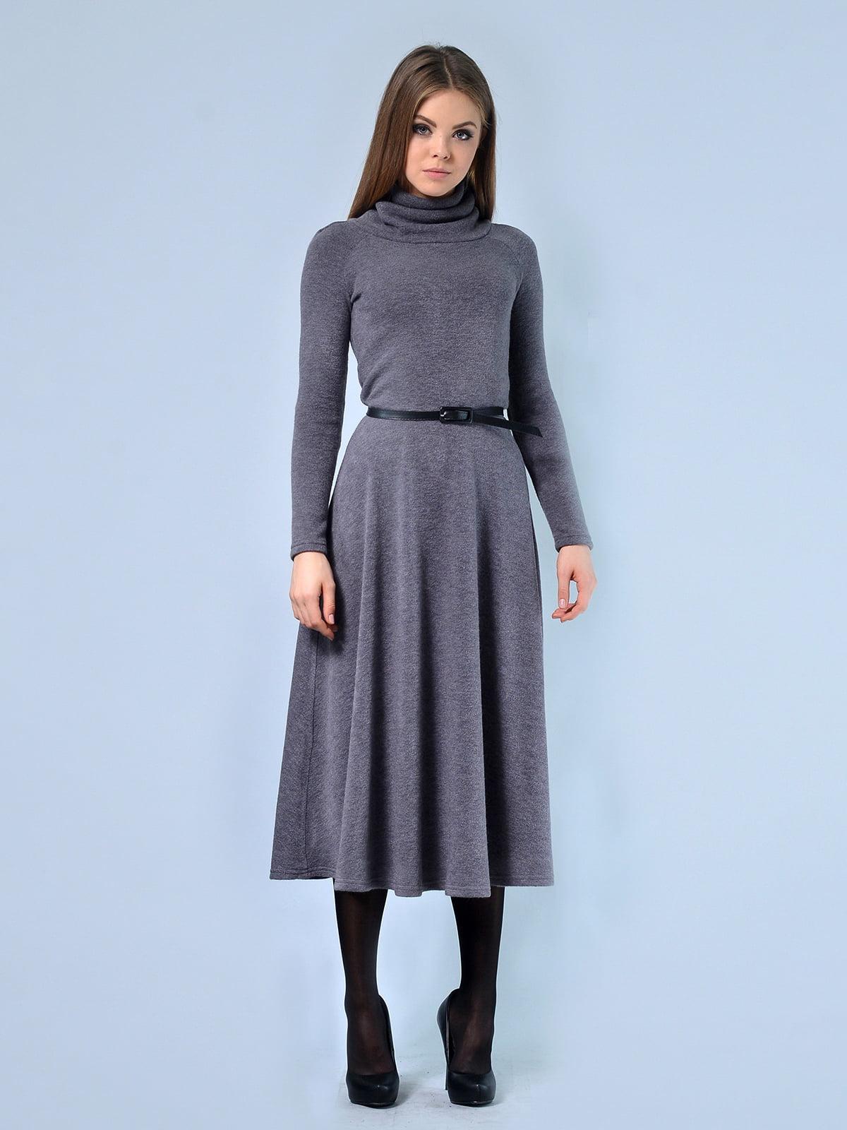 Платье серое | 4529190 | фото 2