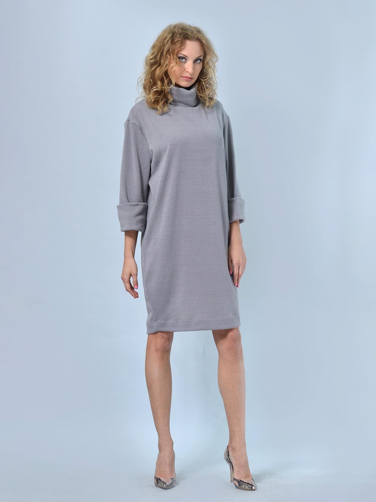 Платье серое   4529232   фото 2
