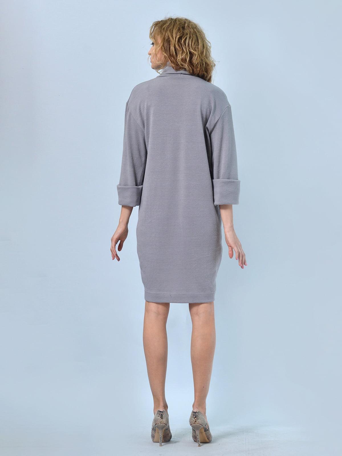 Платье серое   4529232   фото 3