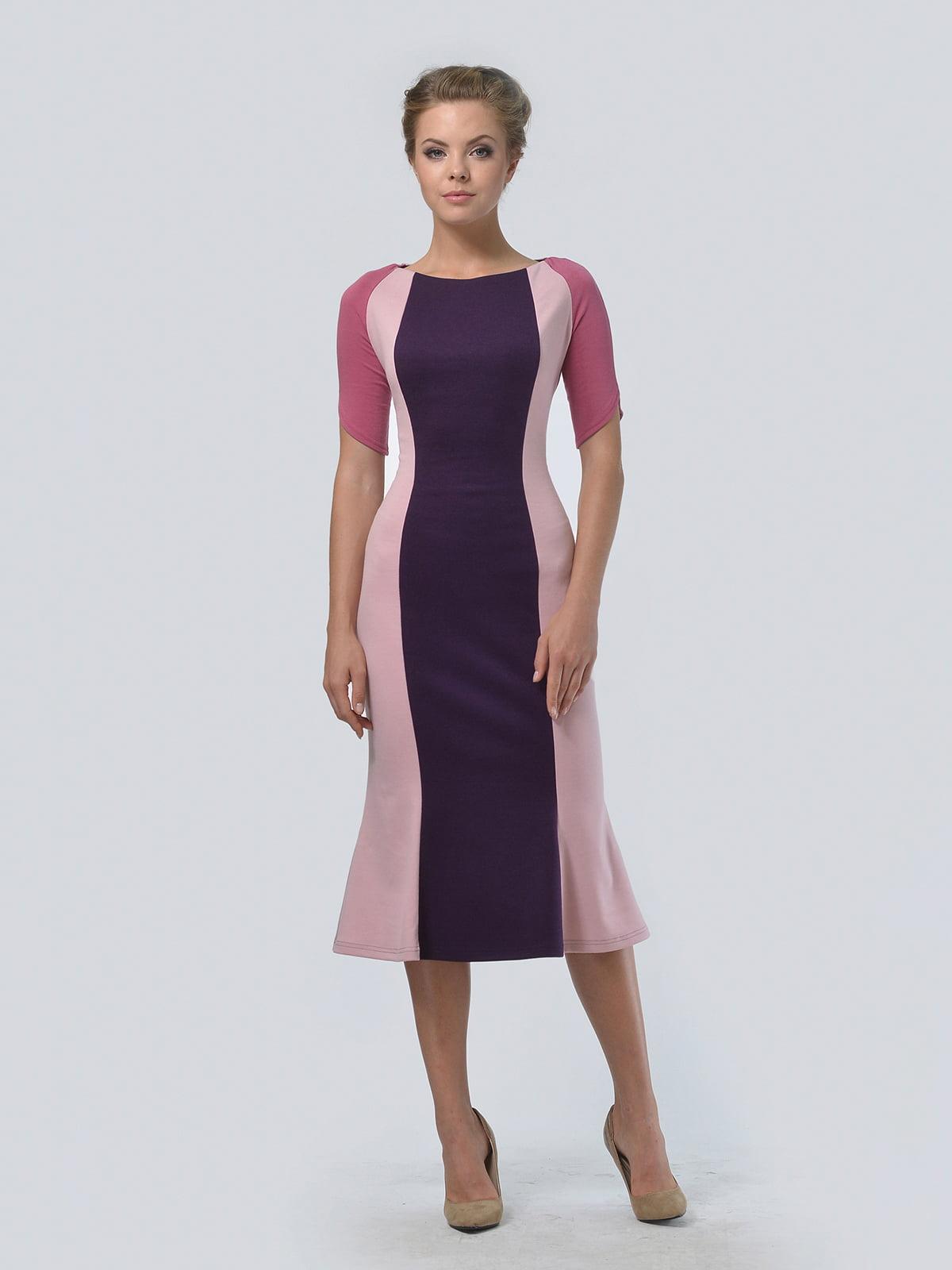 Платье трехцветное | 4529287 | фото 2