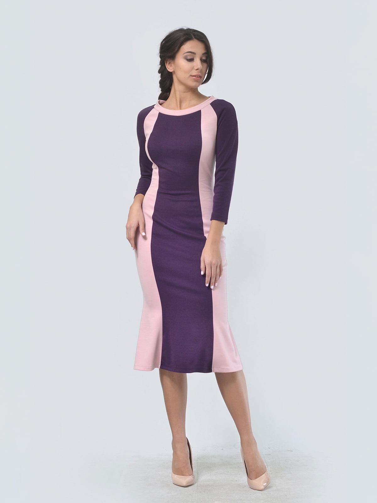Платье двухцветное   4529289