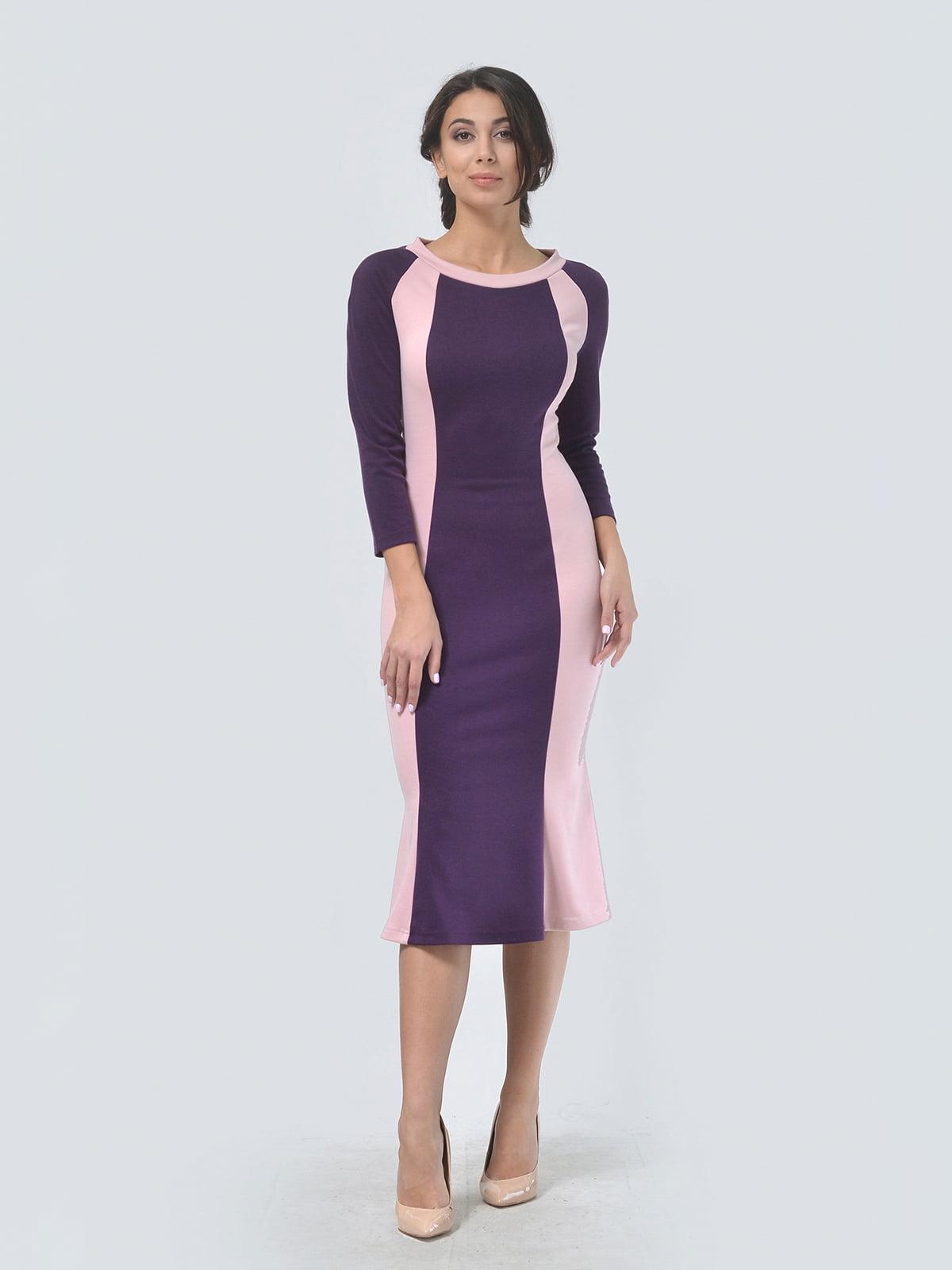 Платье двухцветное   4529289   фото 2