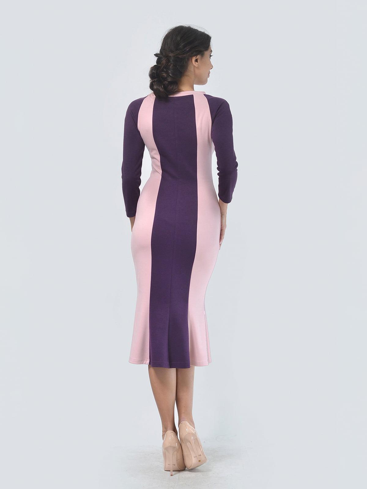 Платье двухцветное   4529289   фото 3