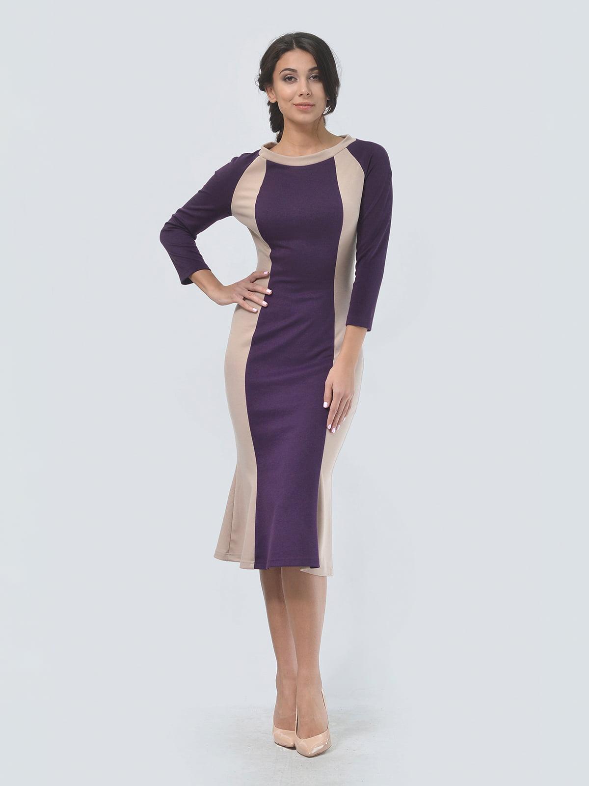 Платье двухцветное | 4529291