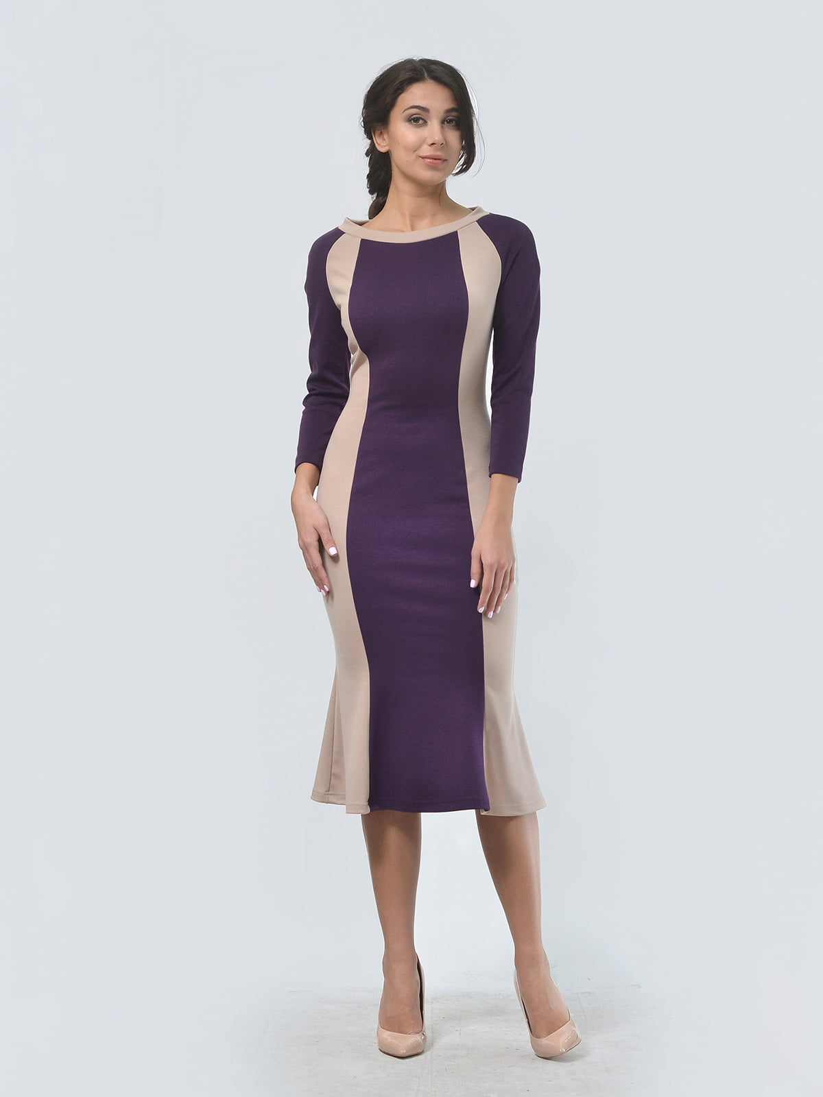 Платье двухцветное | 4529291 | фото 2
