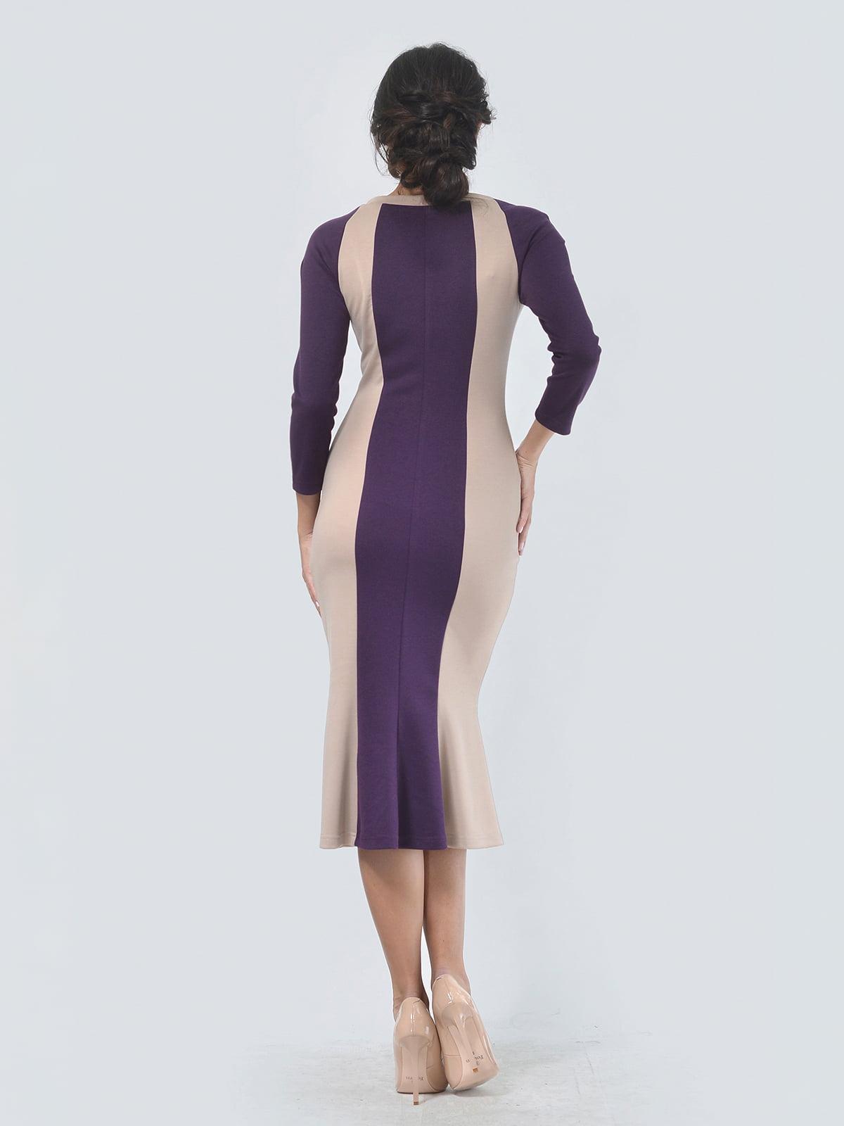 Платье двухцветное | 4529291 | фото 3