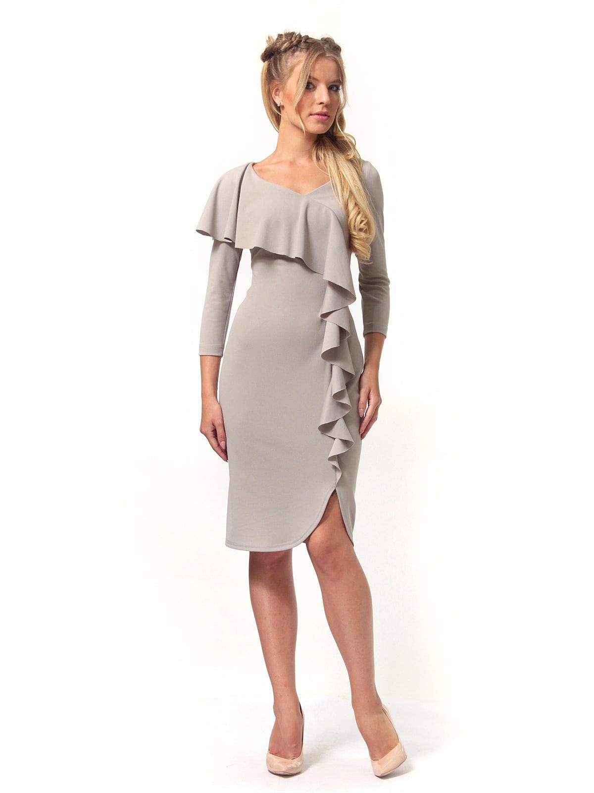 Платье серое | 4529340