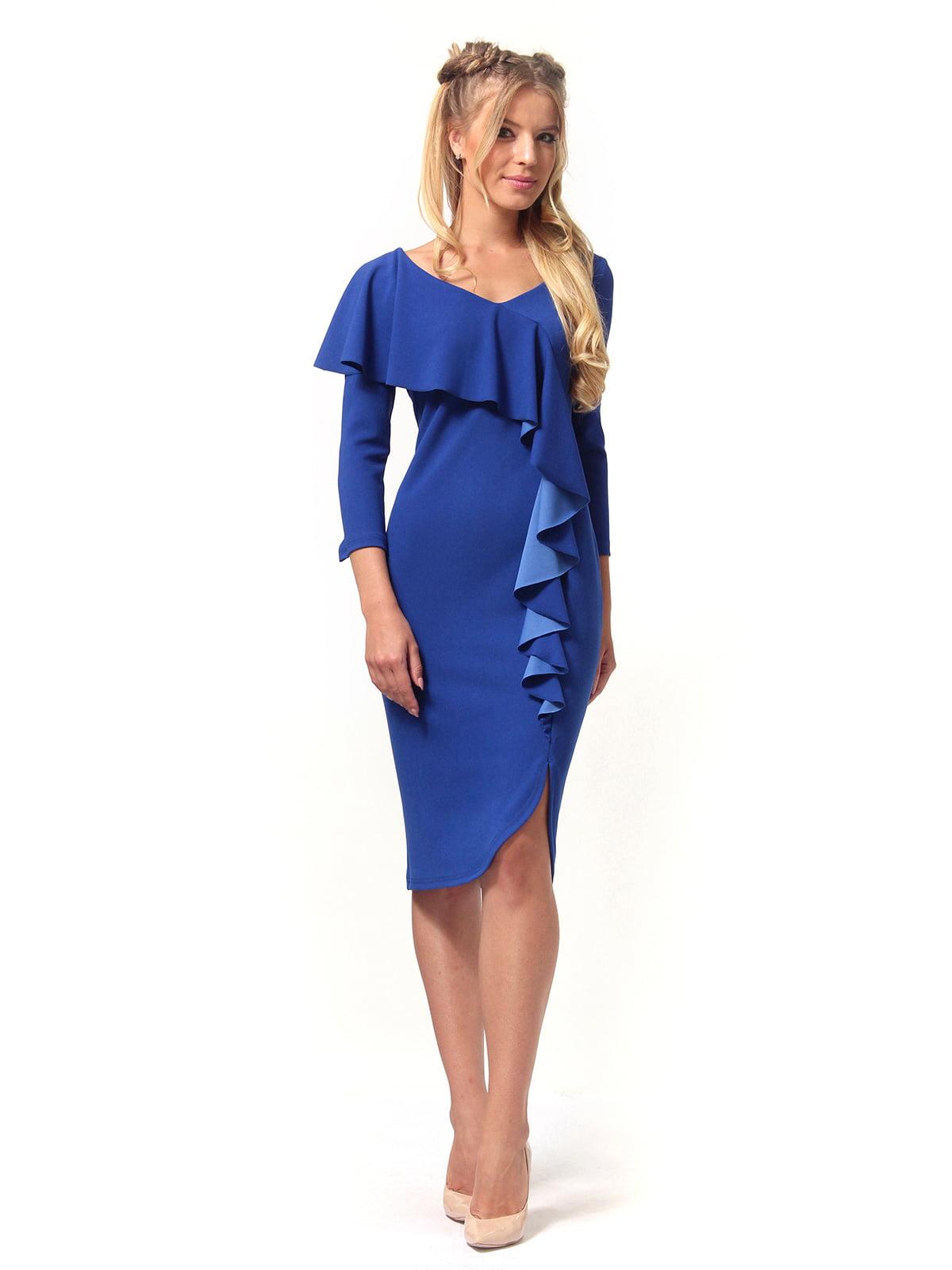 Платье цвета электрик | 4529342 | фото 2