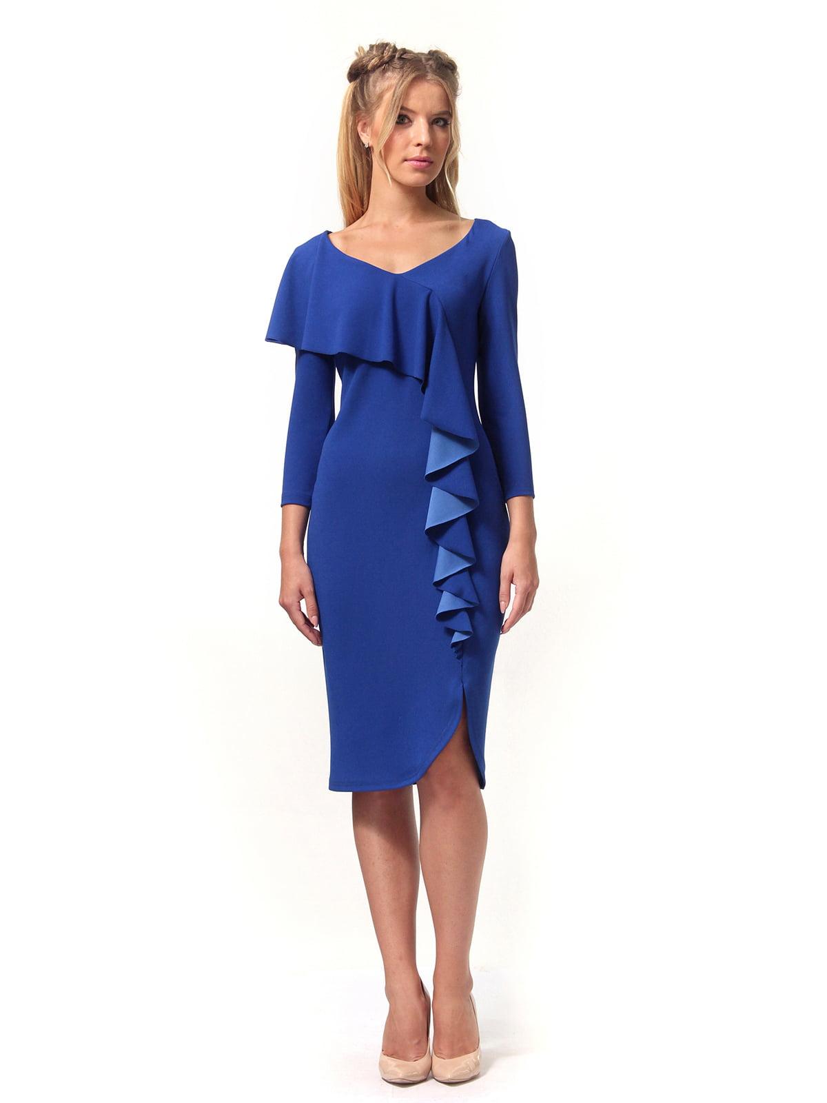 Платье цвета электрик | 4529342 | фото 4