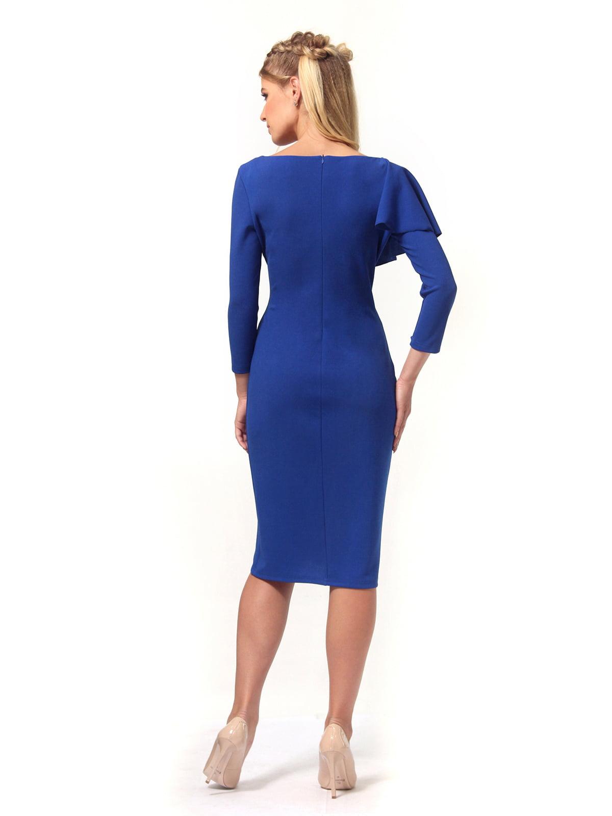 Платье цвета электрик | 4529342 | фото 6