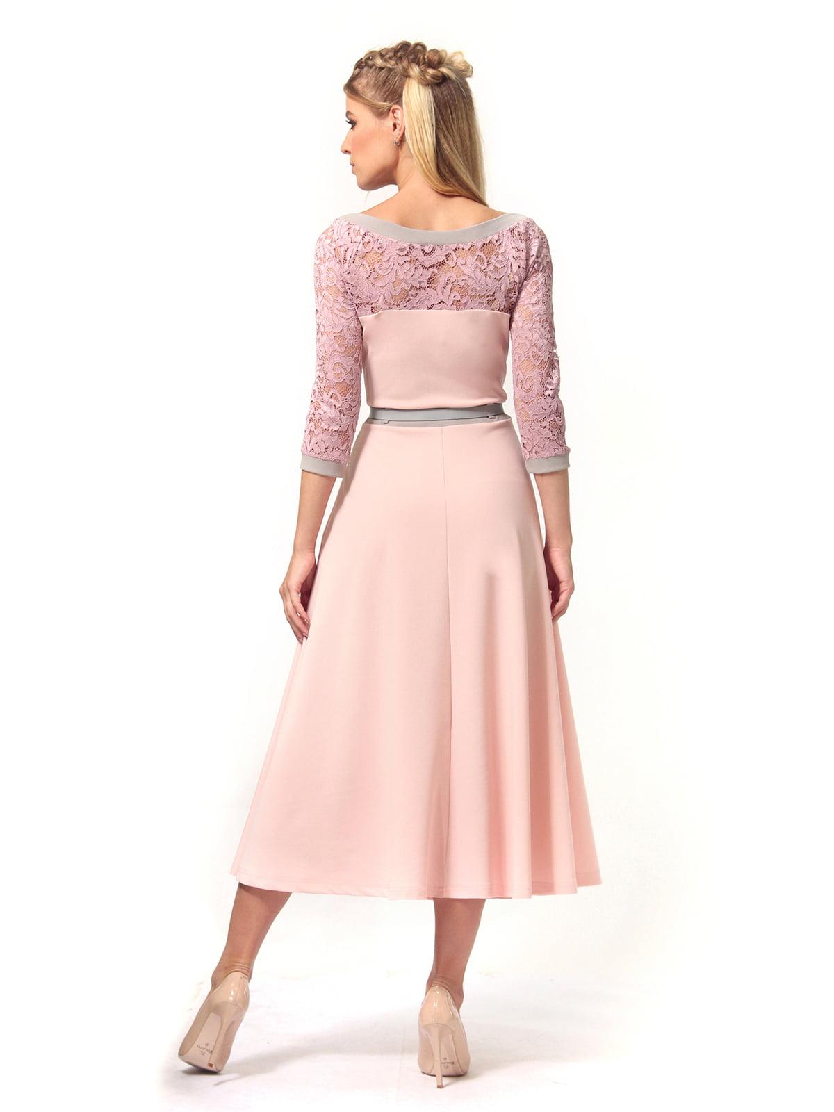 Платье розовое | 4529359 | фото 4