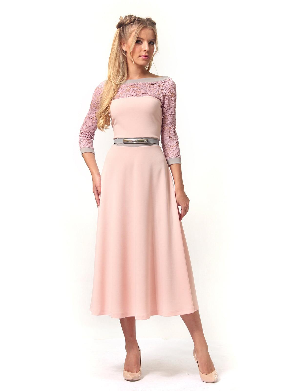 Платье розовое | 4529359