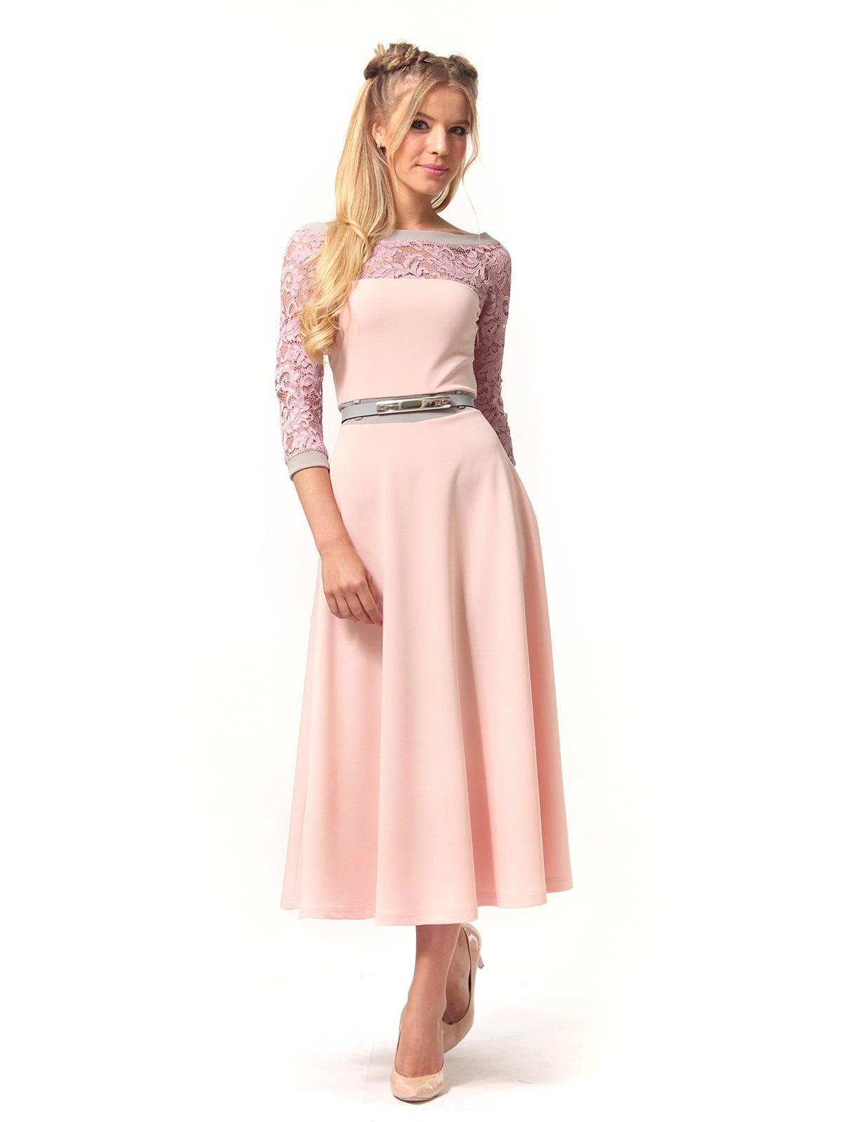 Платье розовое | 4529359 | фото 2