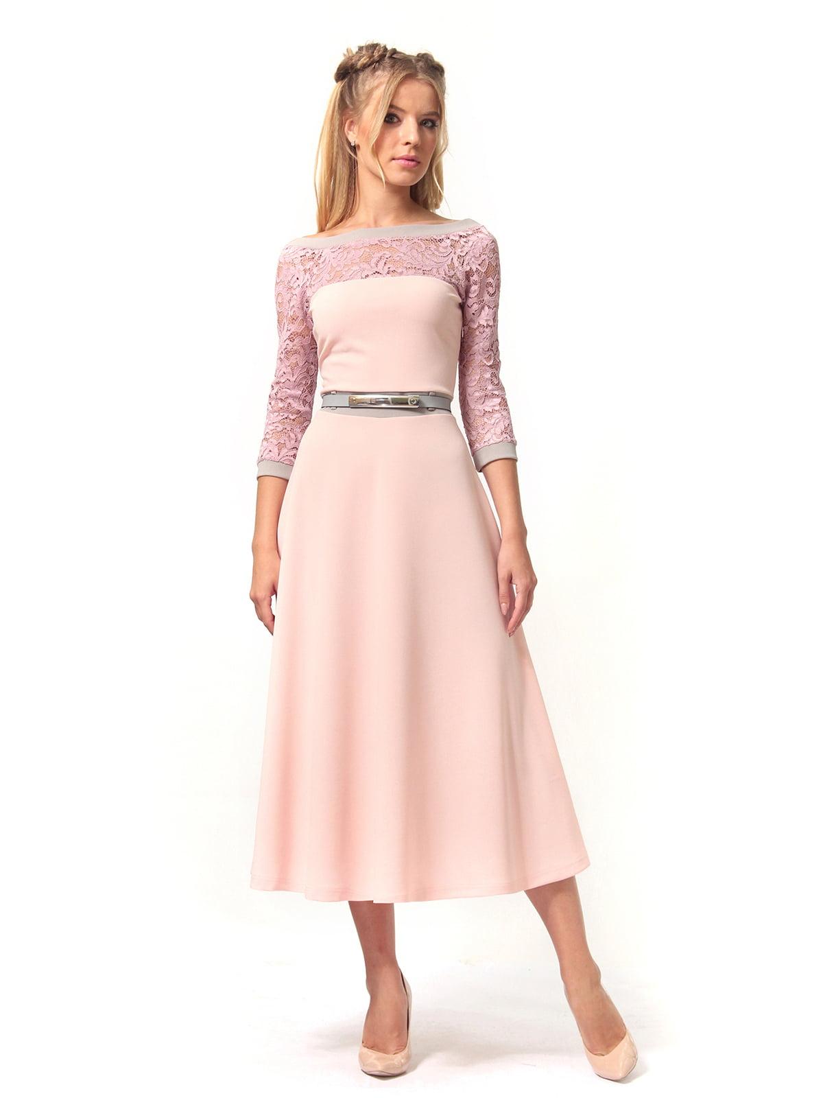 Платье розовое | 4529359 | фото 3