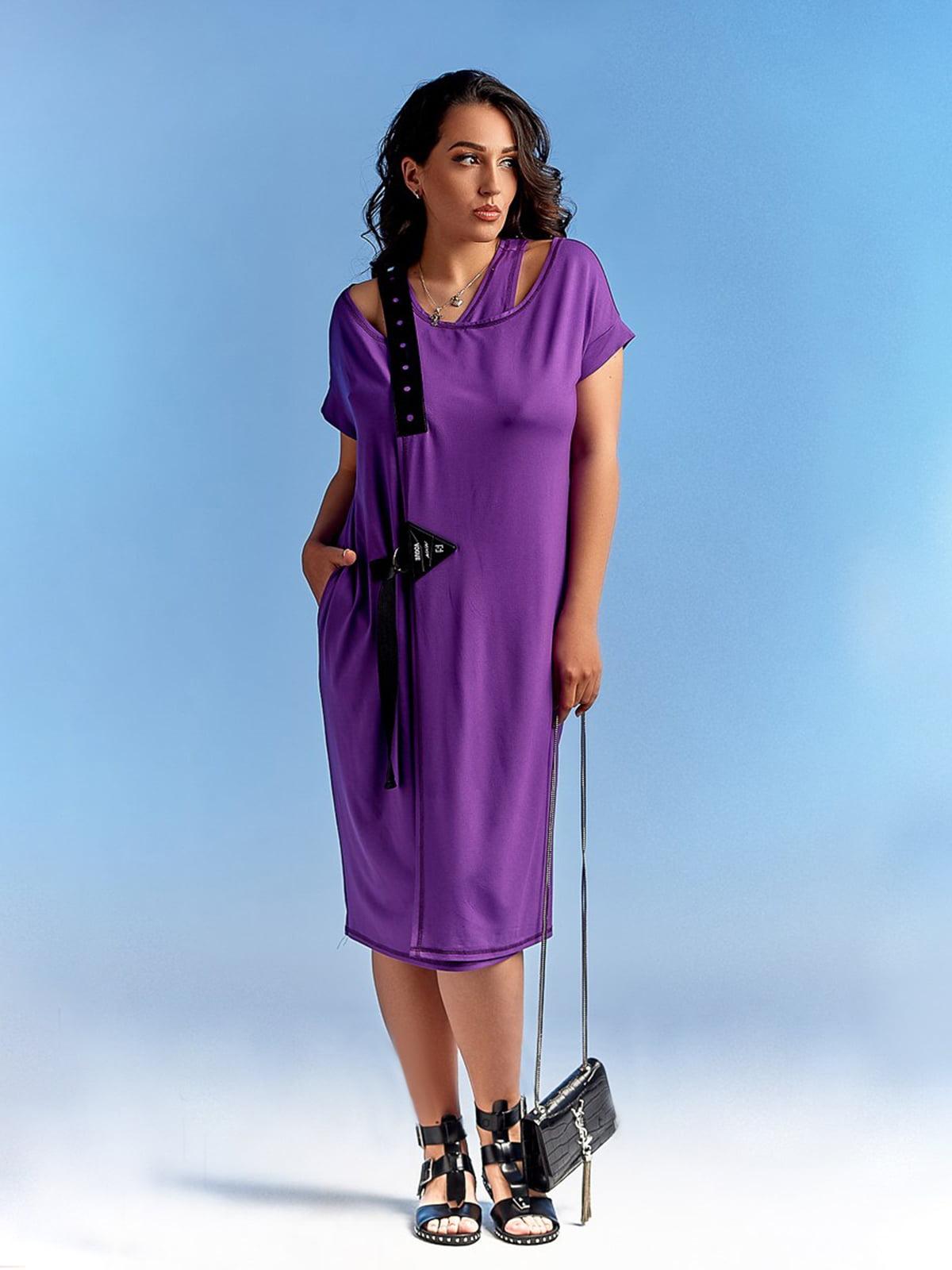 Платье фиолетовое   4531588