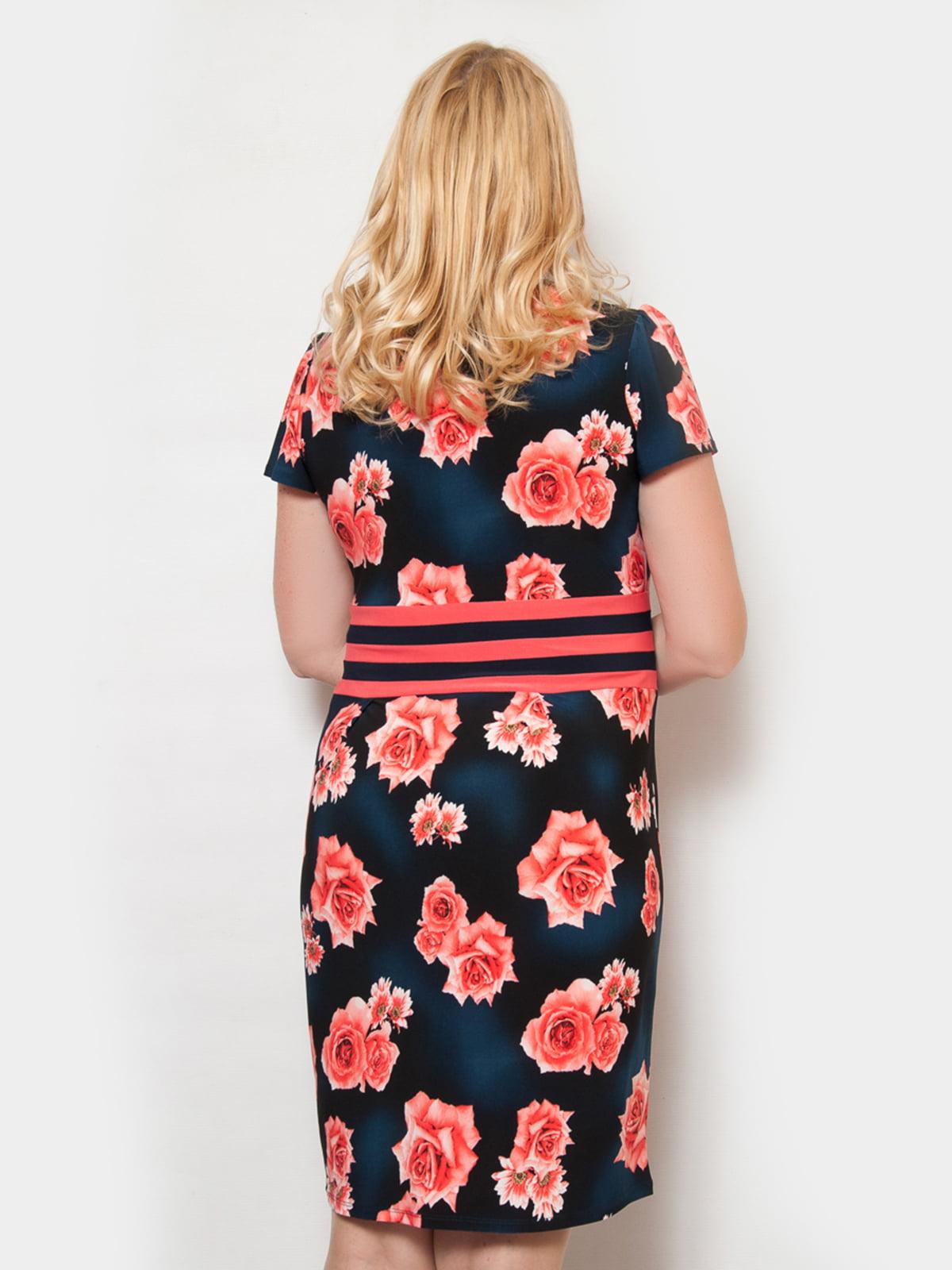 Платье в цветочный принт | 4531591 | фото 2