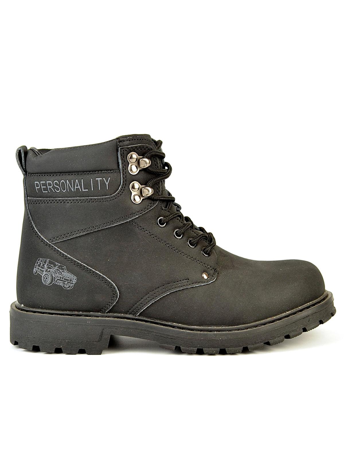 Ботинки черные | 4532914 | фото 3
