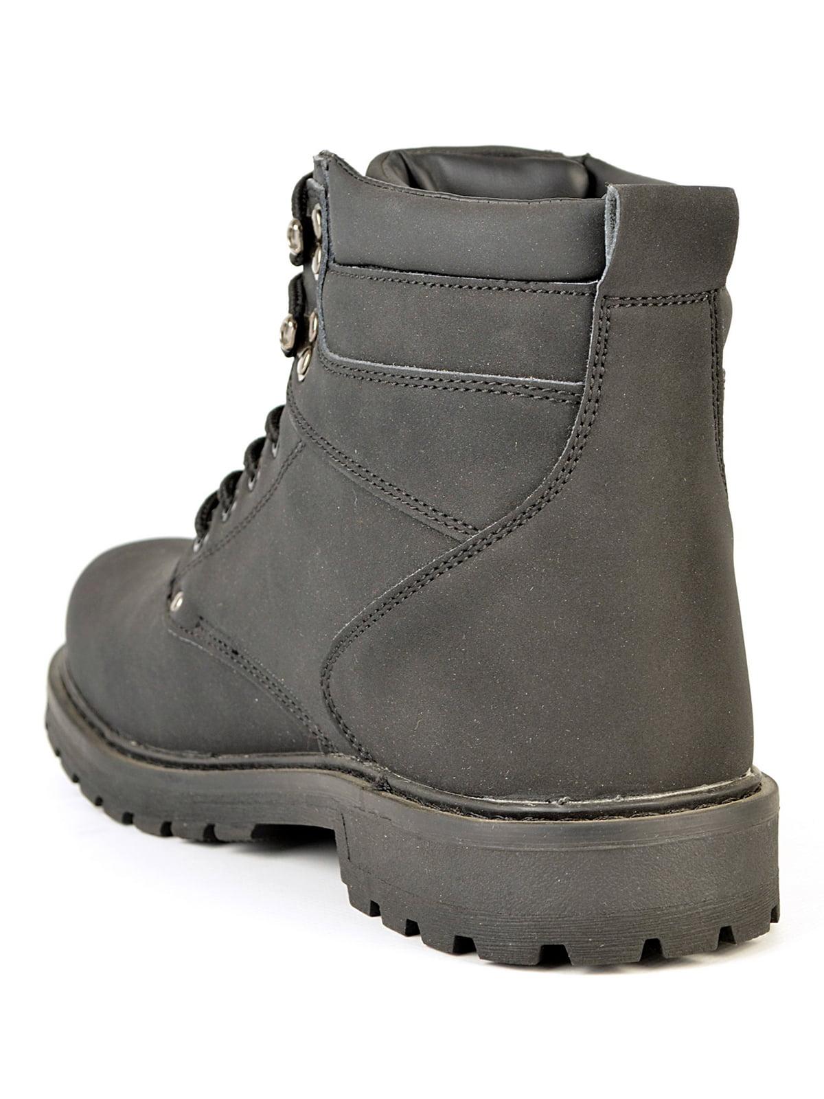 Ботинки черные | 4532914 | фото 4