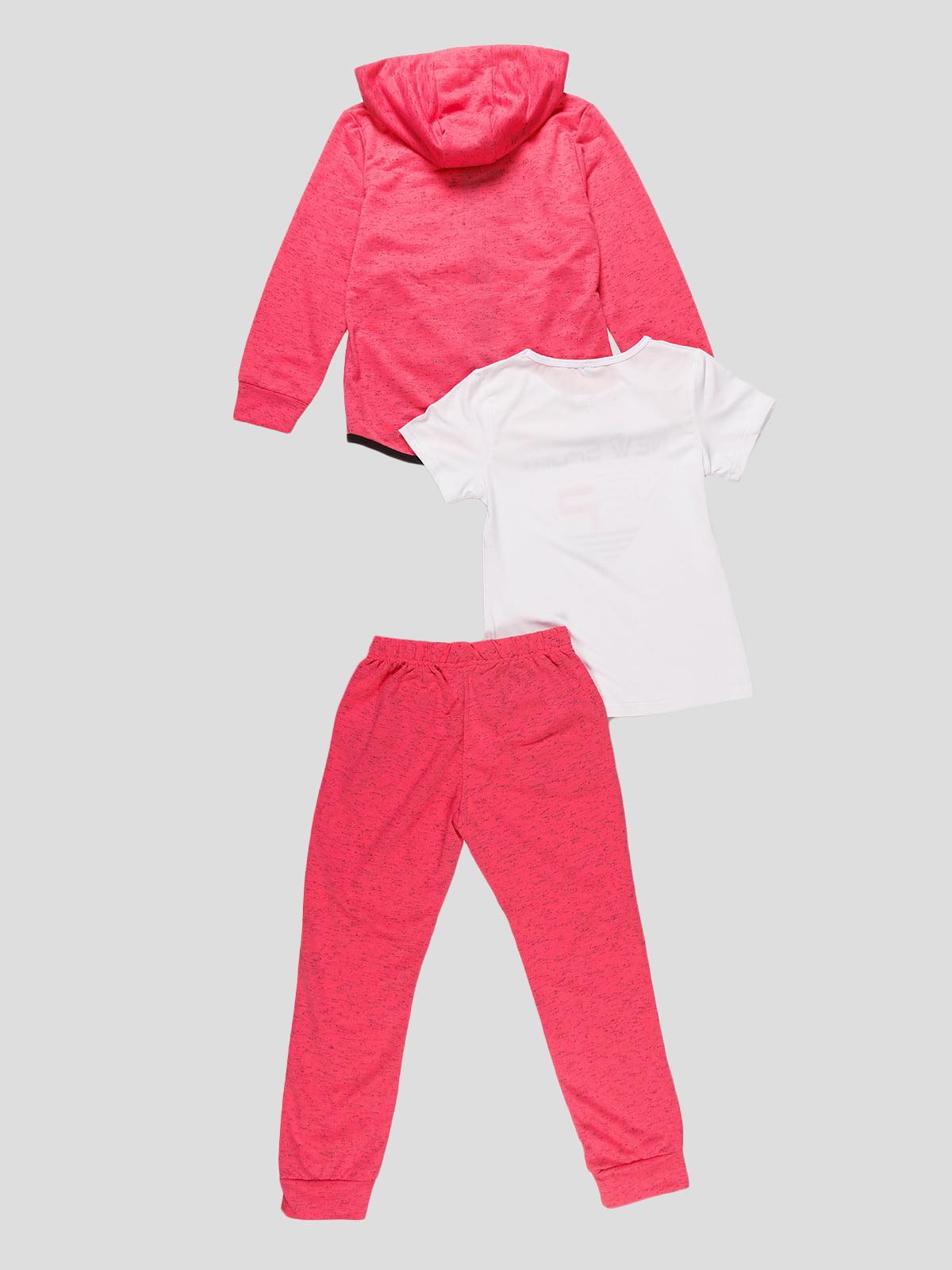 Комплект: кофта, футболка і штани   4531213   фото 2