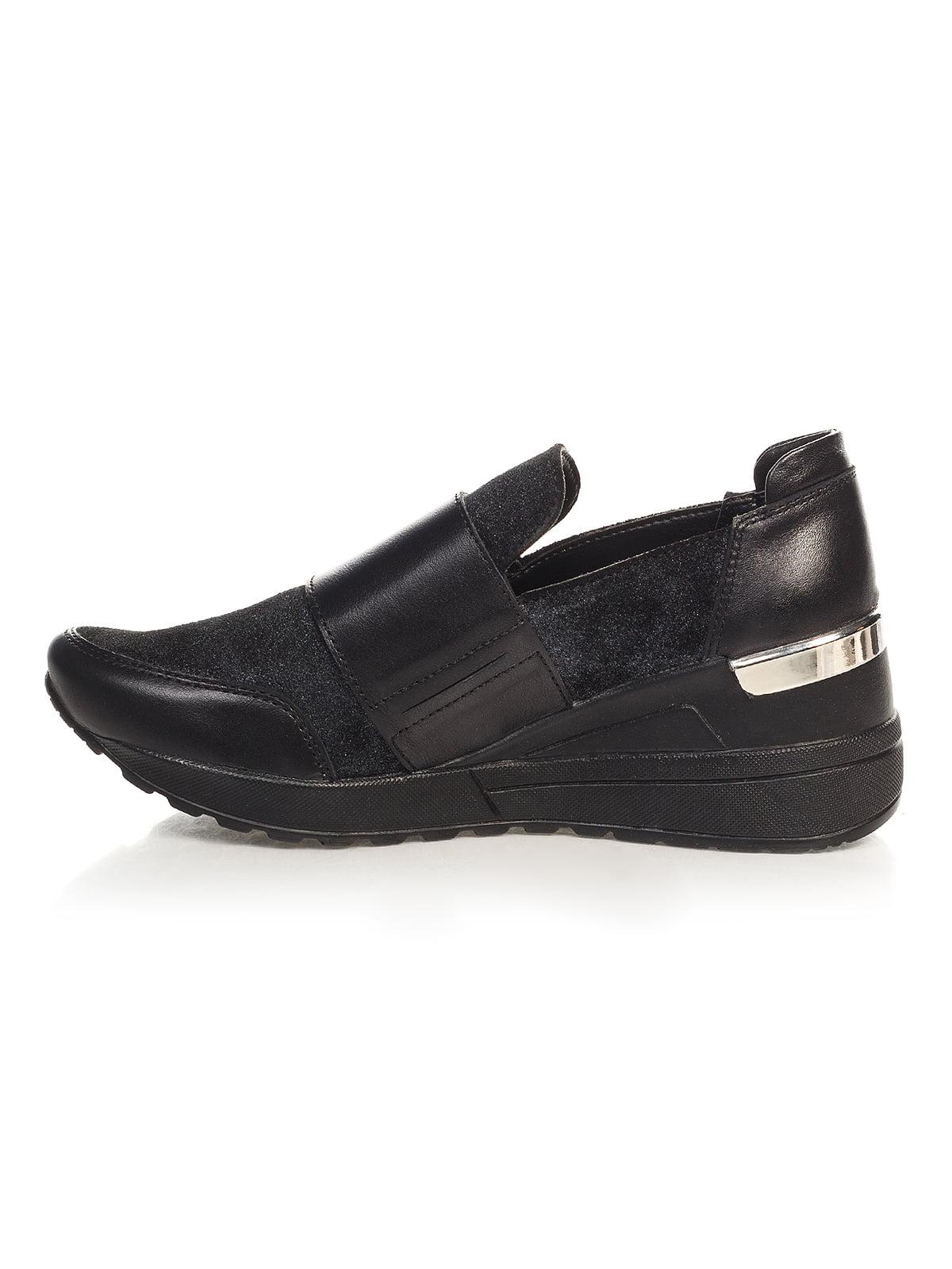 Кроссовки черные | 4527686 | фото 4