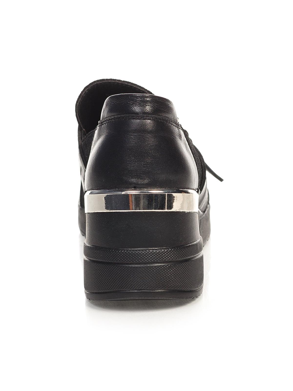 Кроссовки черные | 4527686 | фото 5