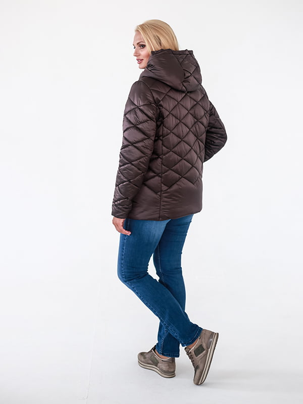 Куртка шоколадного цвета | 4534716 | фото 3
